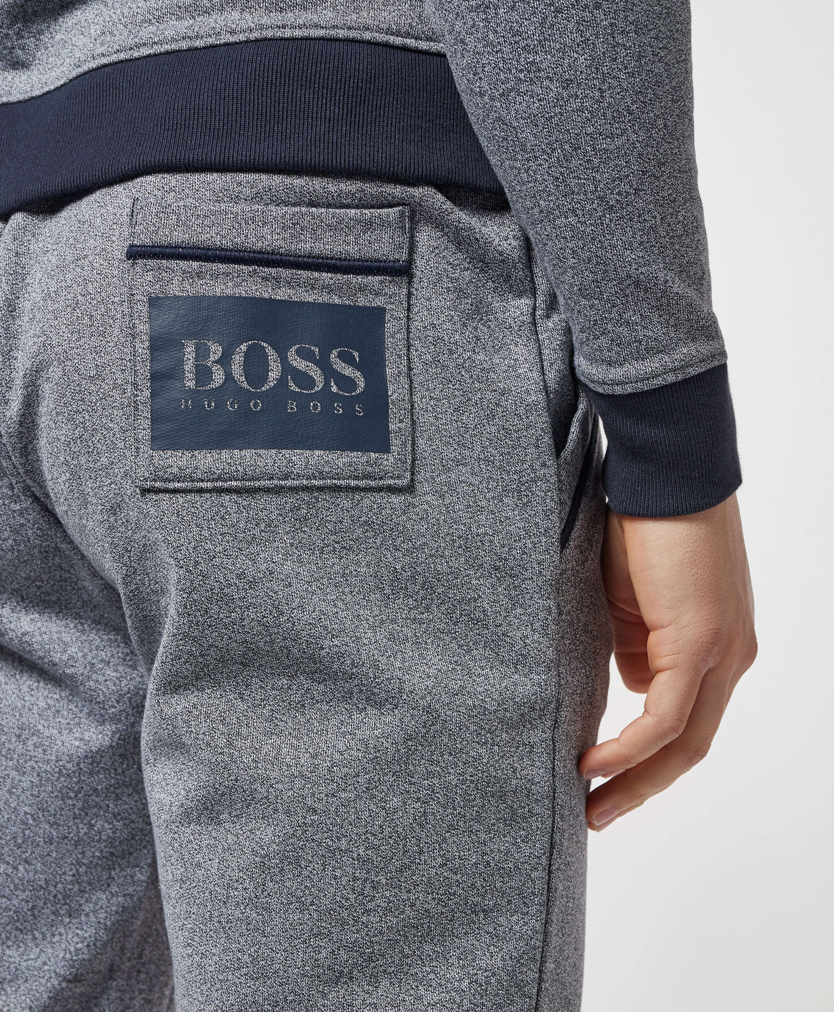 BOSS Stamp Logo Cuffed Fleece Pants