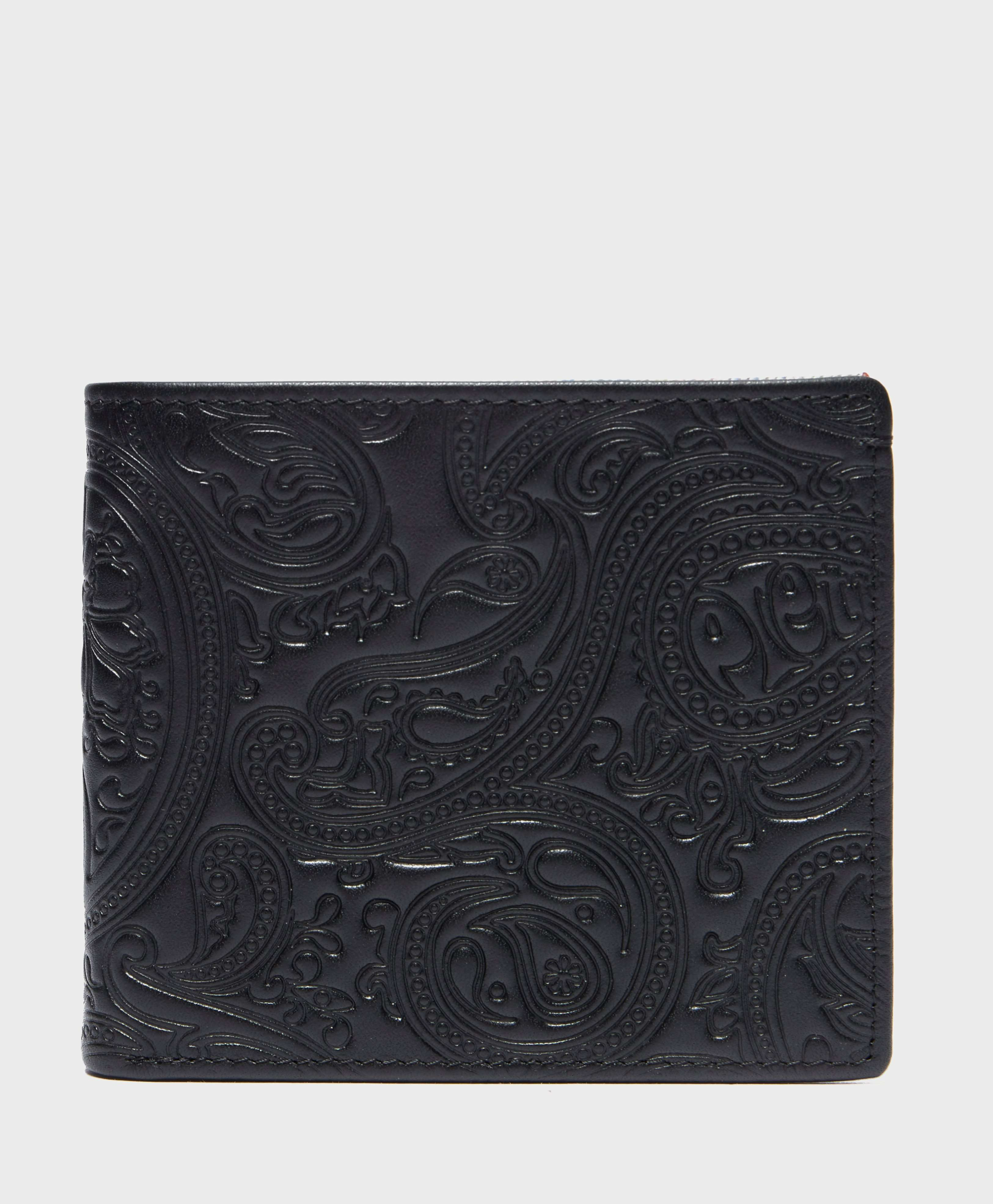 Pretty Green Paisley Embossed Wallet
