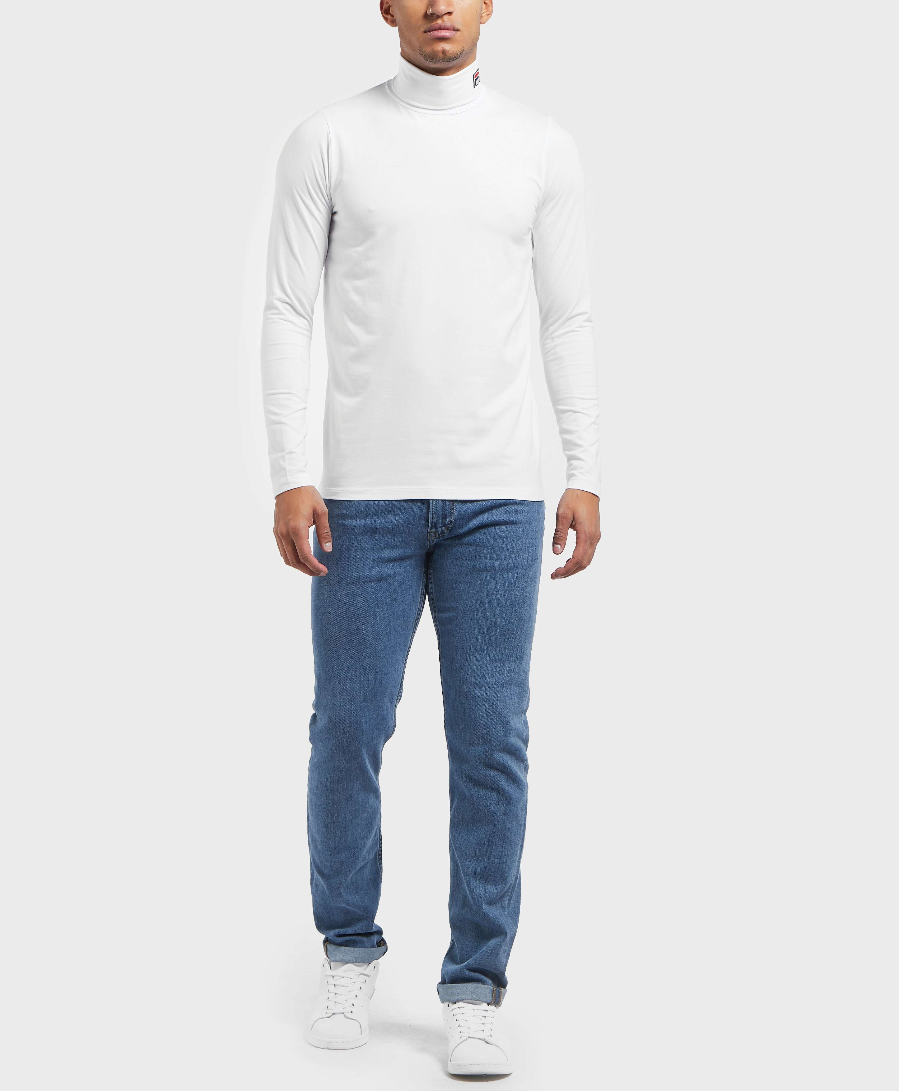 Fila 19th Roll Neck Long Sleeve T-Shirt