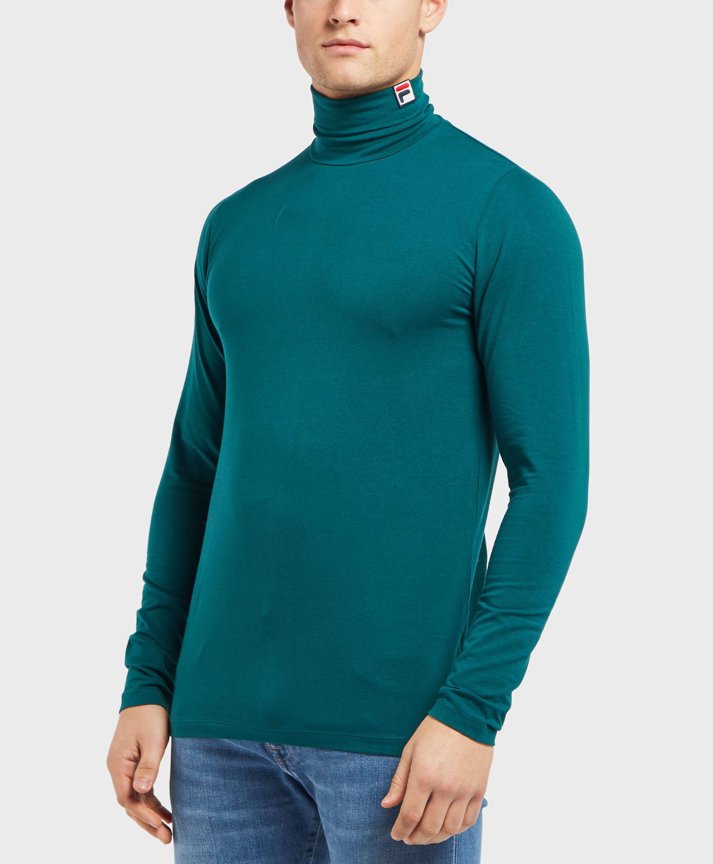 Fila Roll Neck Long Sleeve T-Shirt