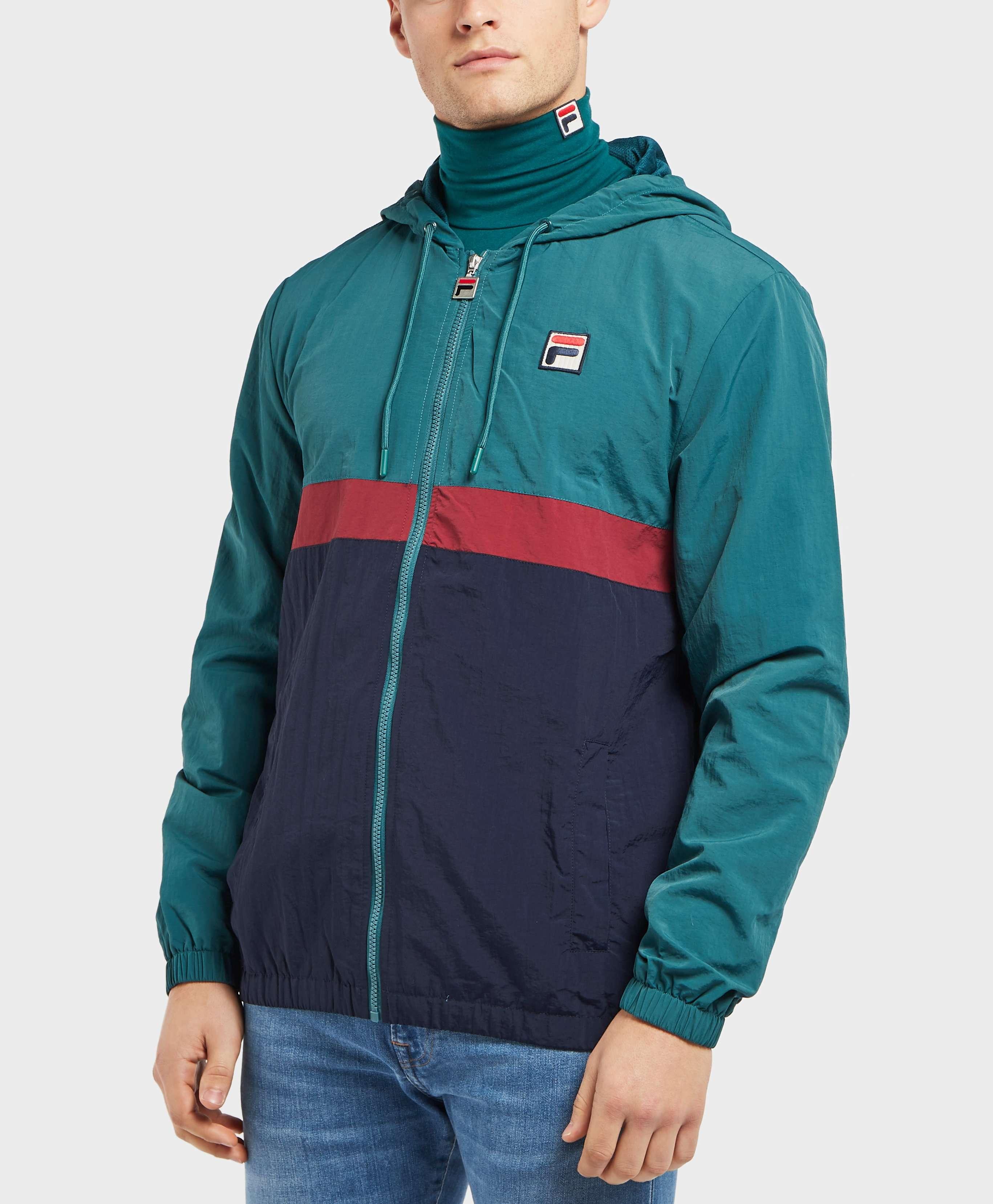 Fila Colour Block Lightweight Windbreaker Jacket