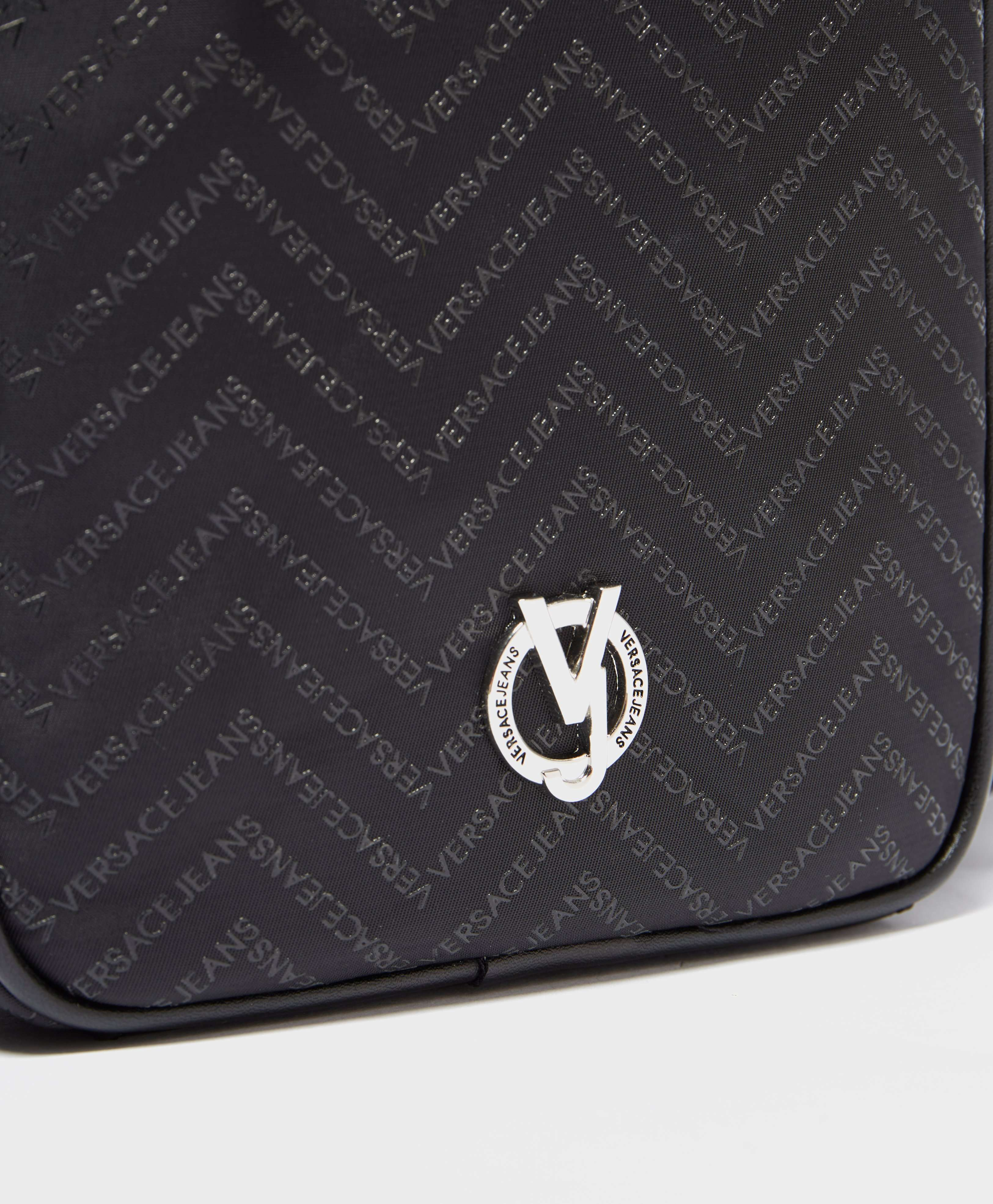 Versace Jeans Chevron Logo Print Small Item Bag