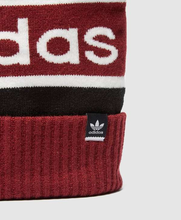 547a77004fec4 ... black dd8b3 d7bb4  low price adidas originals logo pom pom beanie 31e2a  7b916