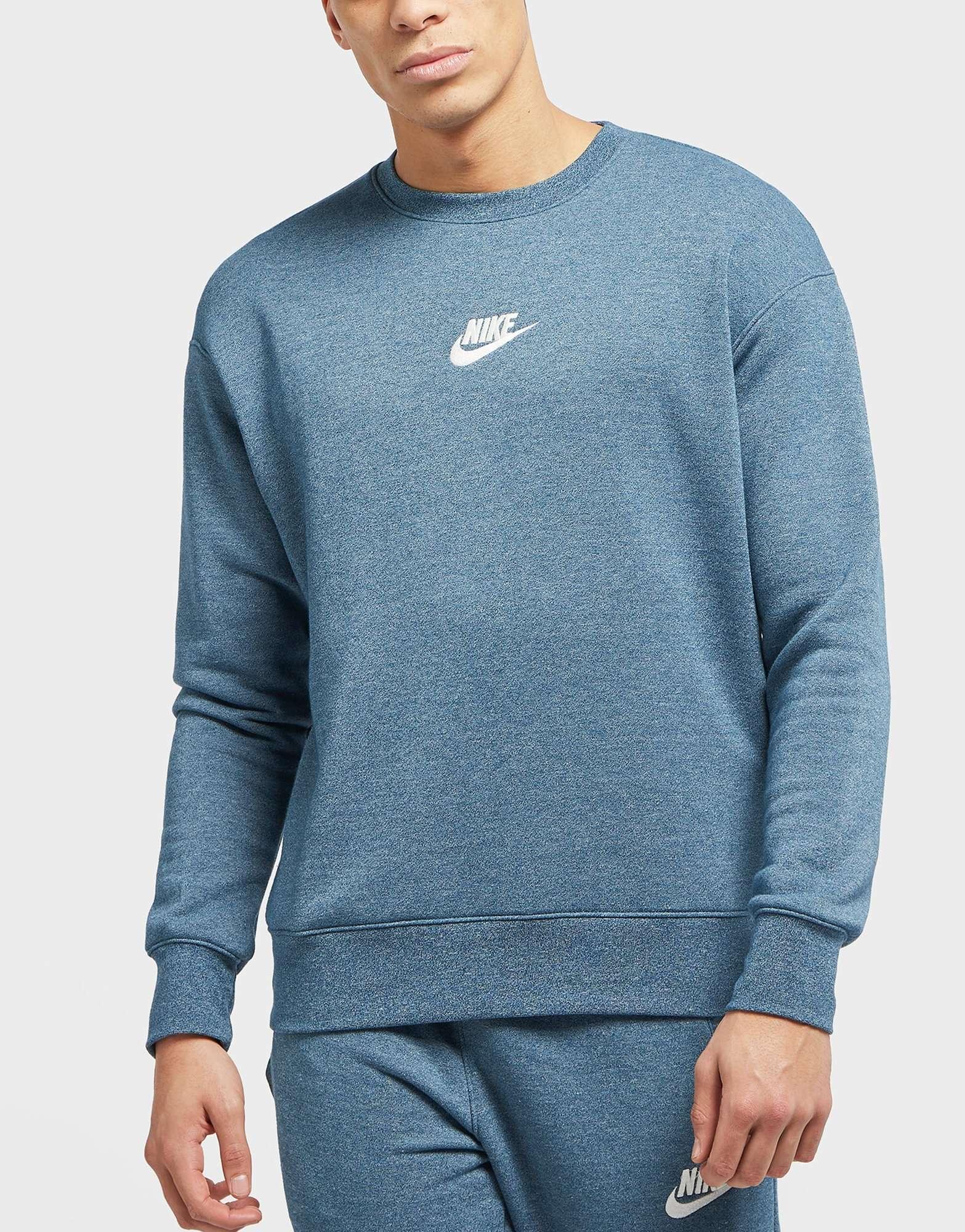 908315189ab2e1 Nike Vintage Marl Crew Neck Sweatshirt – EDGE Engineering and ...
