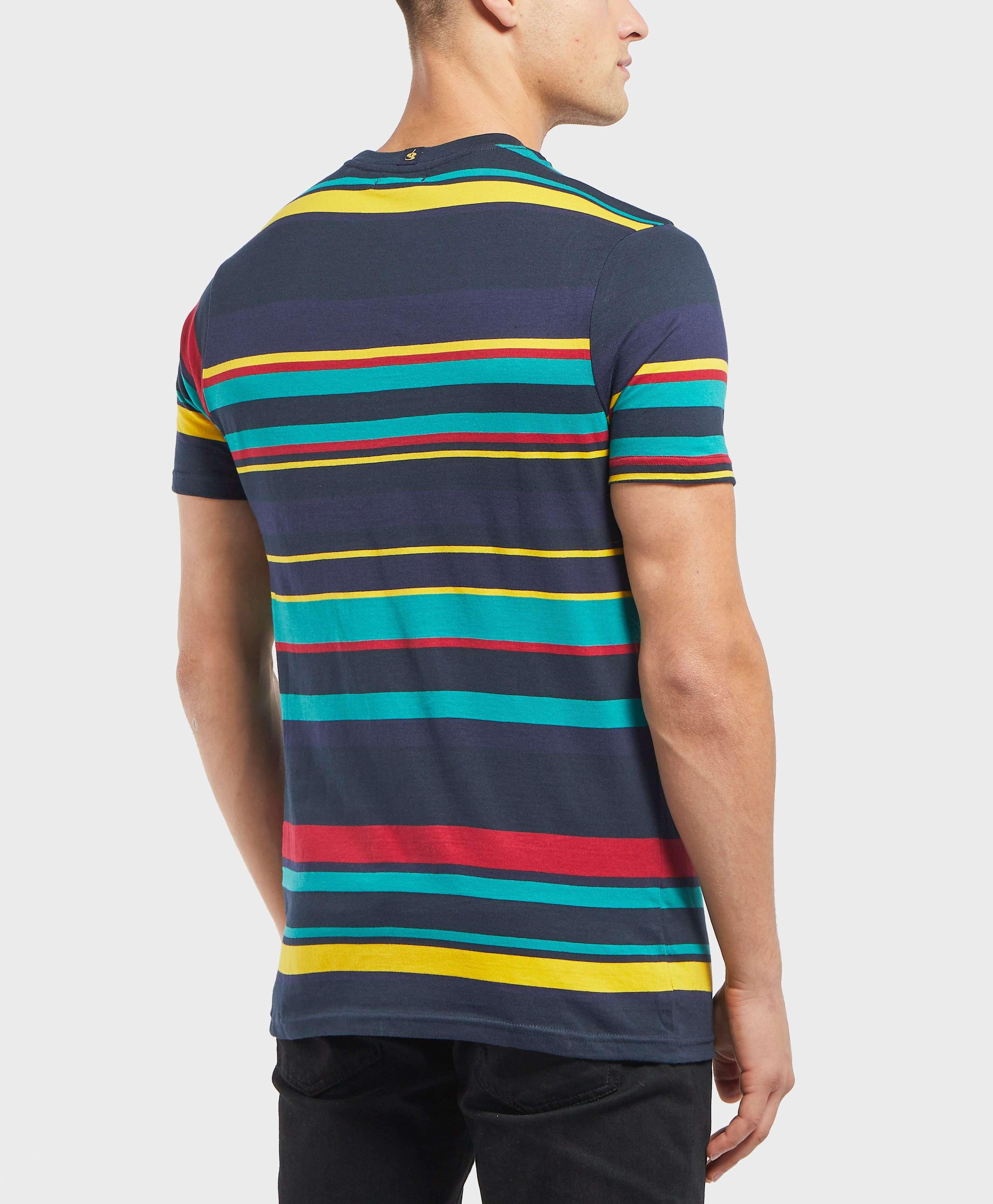 Gio Goi Engineered Stripe Short Sleeve T-Shirt