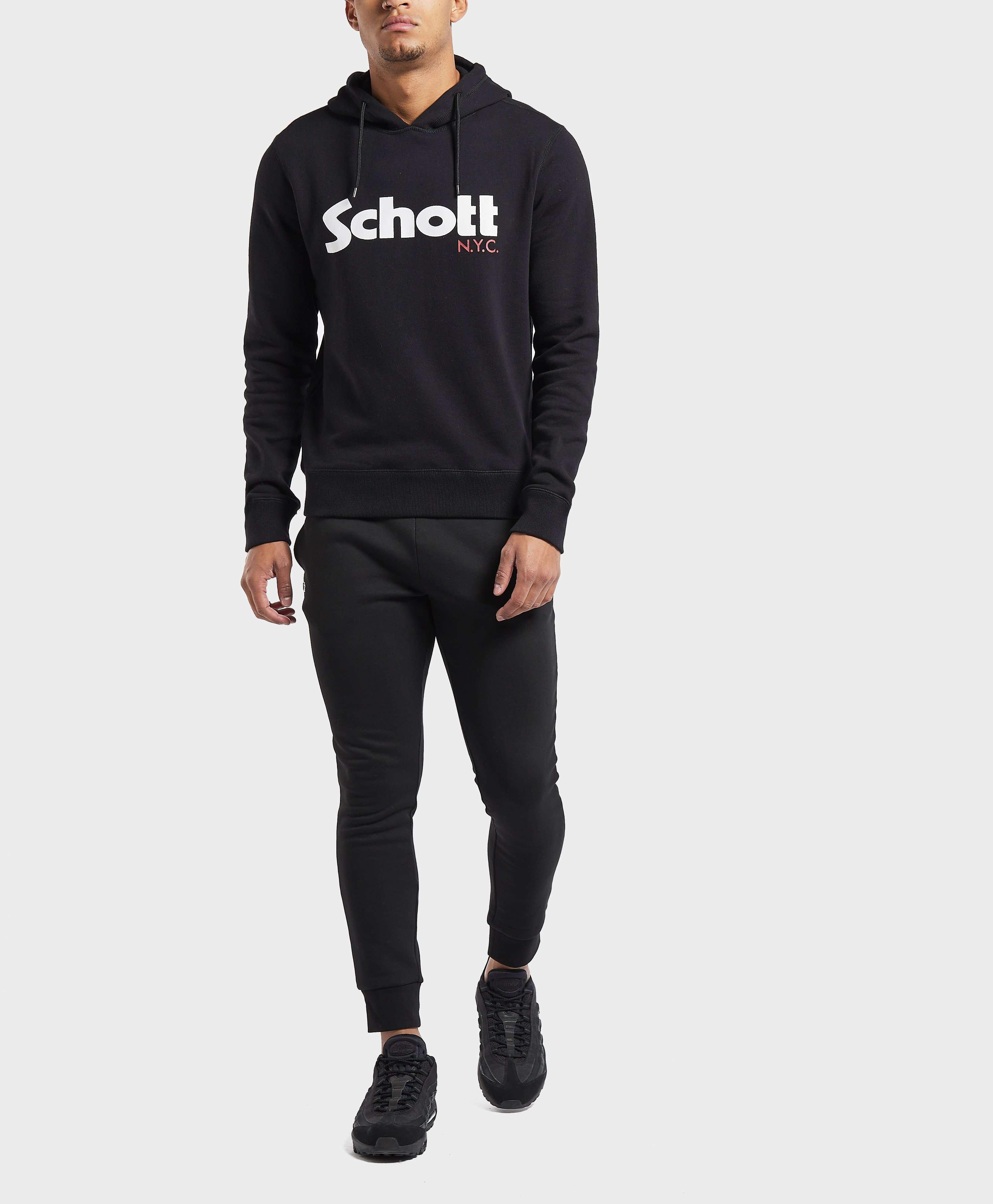 Schott Logo Overhead Hoodie
