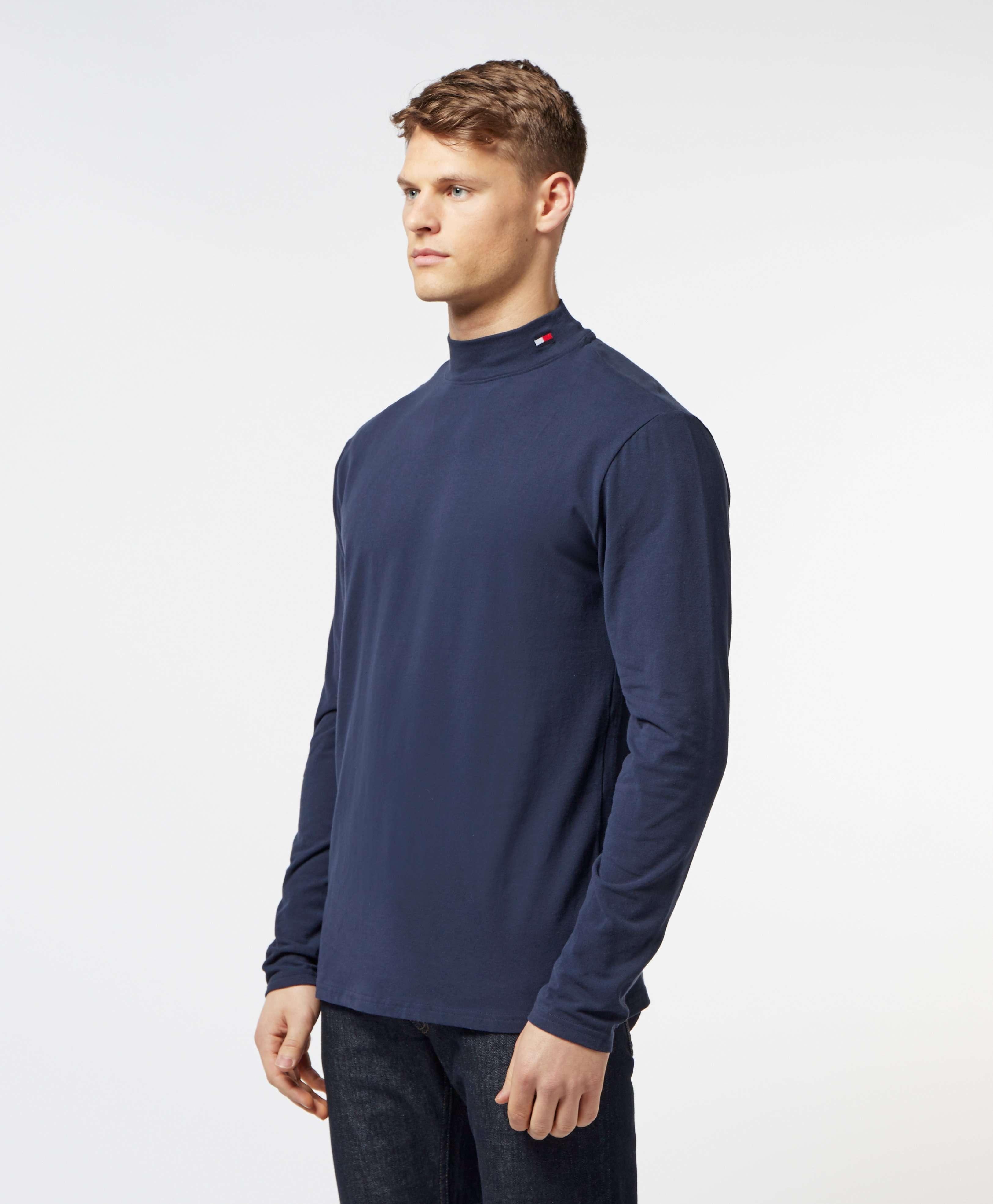 Tommy Hilfiger Mock Long Sleeve T-Shirt