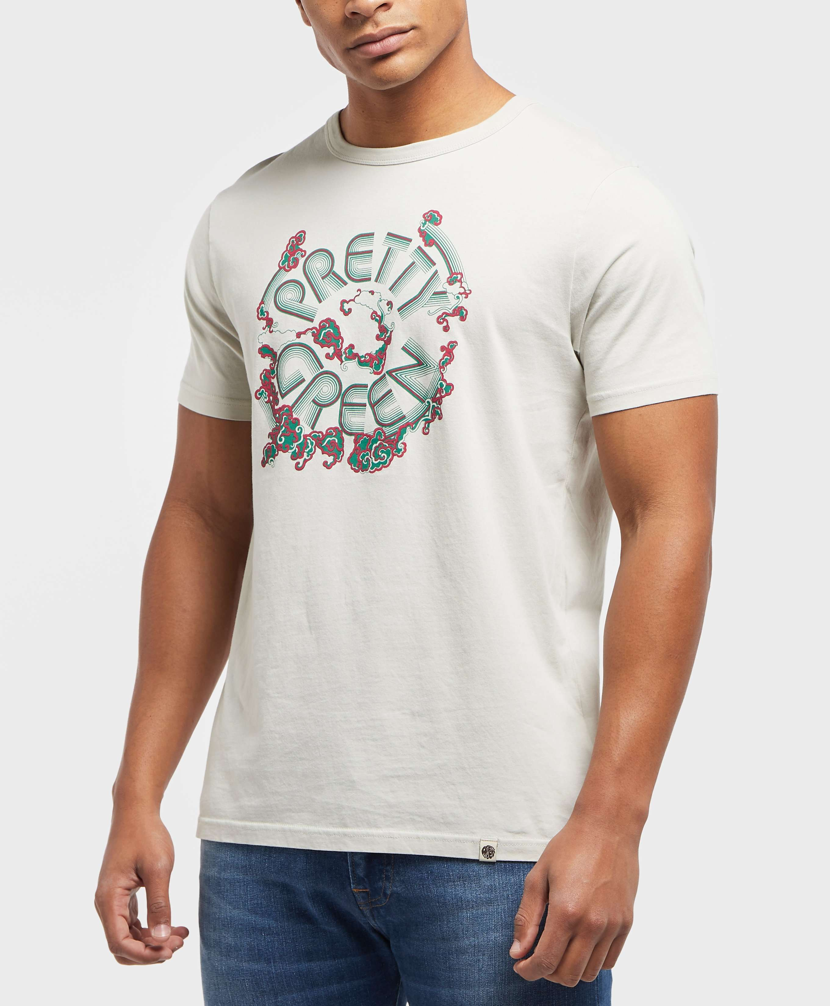Pretty Green Waters Logo Short Sleeve T-Shirt - Exclusive