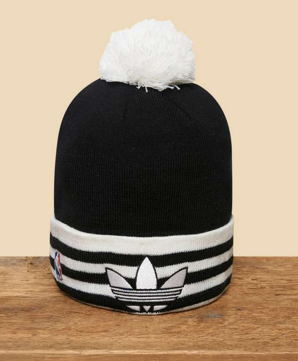 timeless design 0a436 9e3c3 ... australia adidas originals nba brooklyn nets bobble hat 80a46 ace18