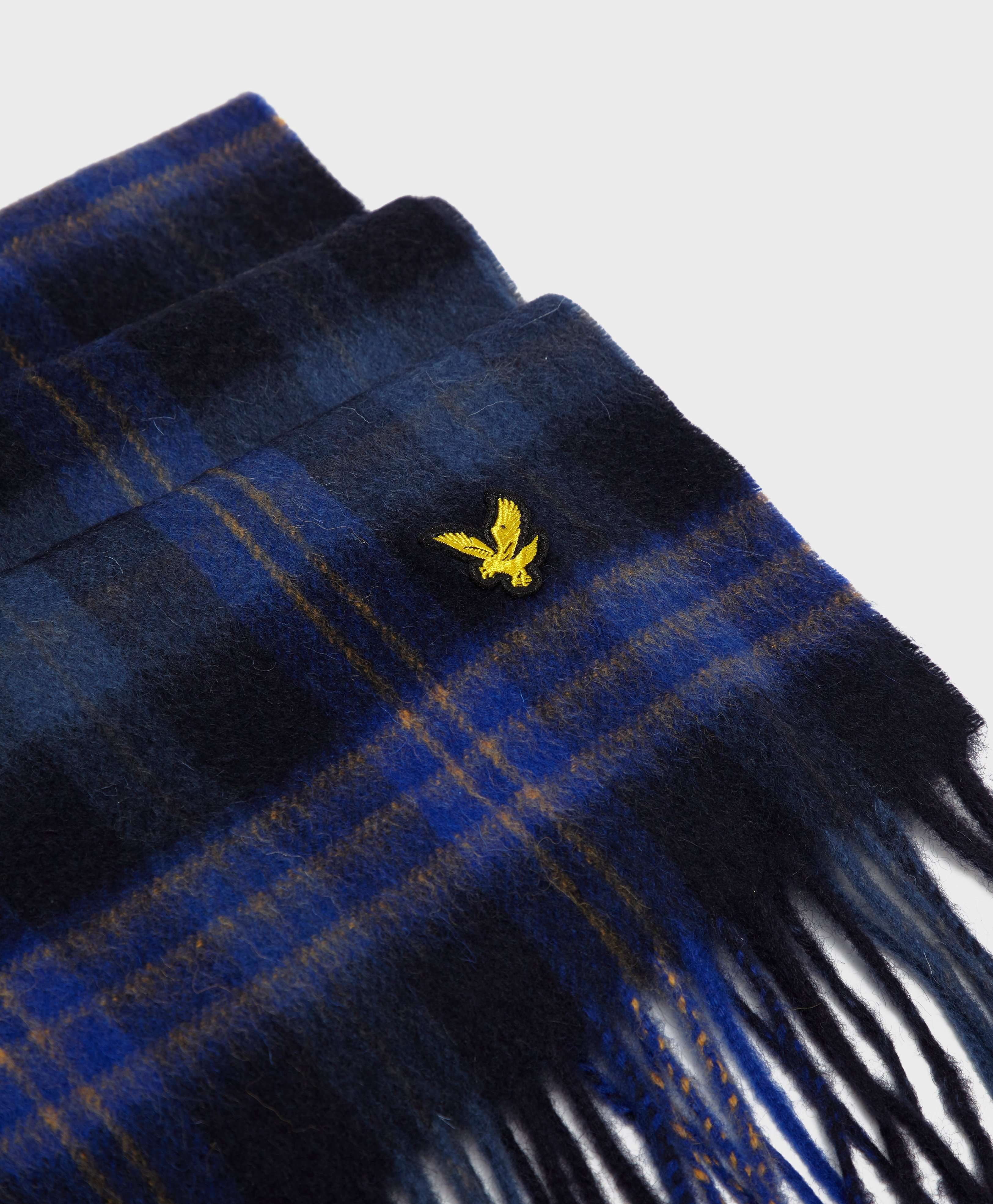 Lyle & Scott Lambswool Check Scarf