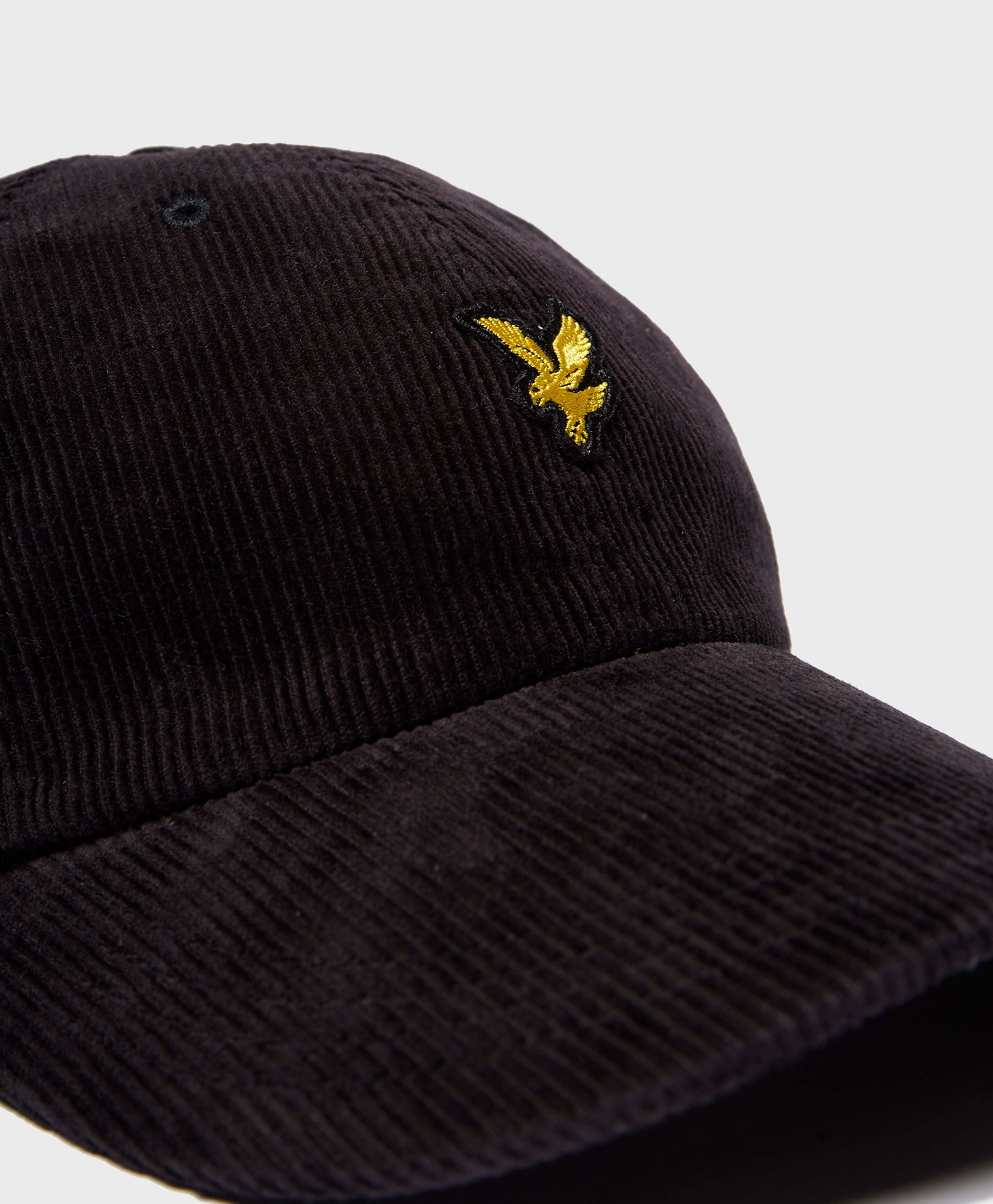 Lyle & Scott Eagle Corduroy Cap