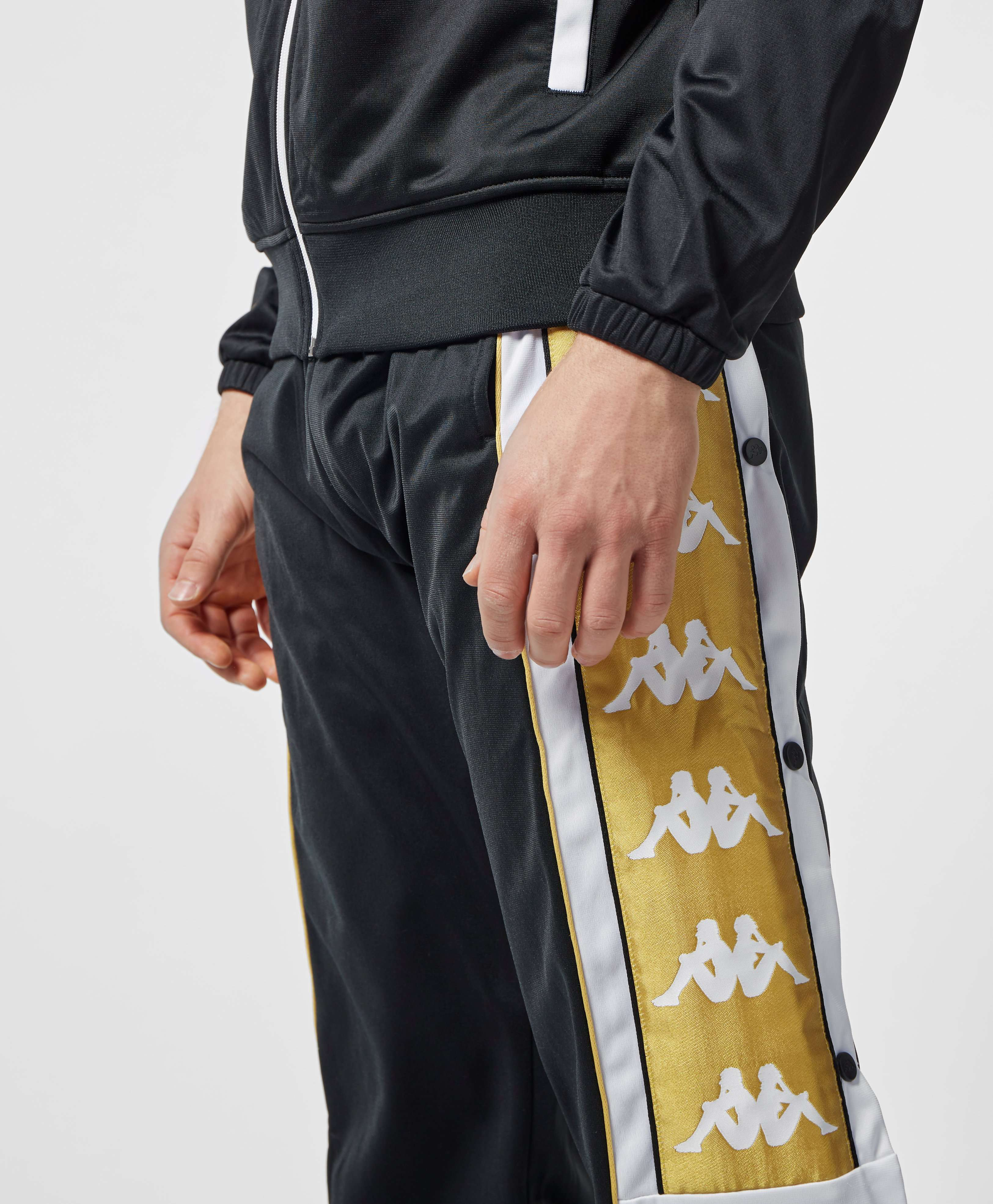 Kappa Banda 10 Snap Button Tape Track Pants
