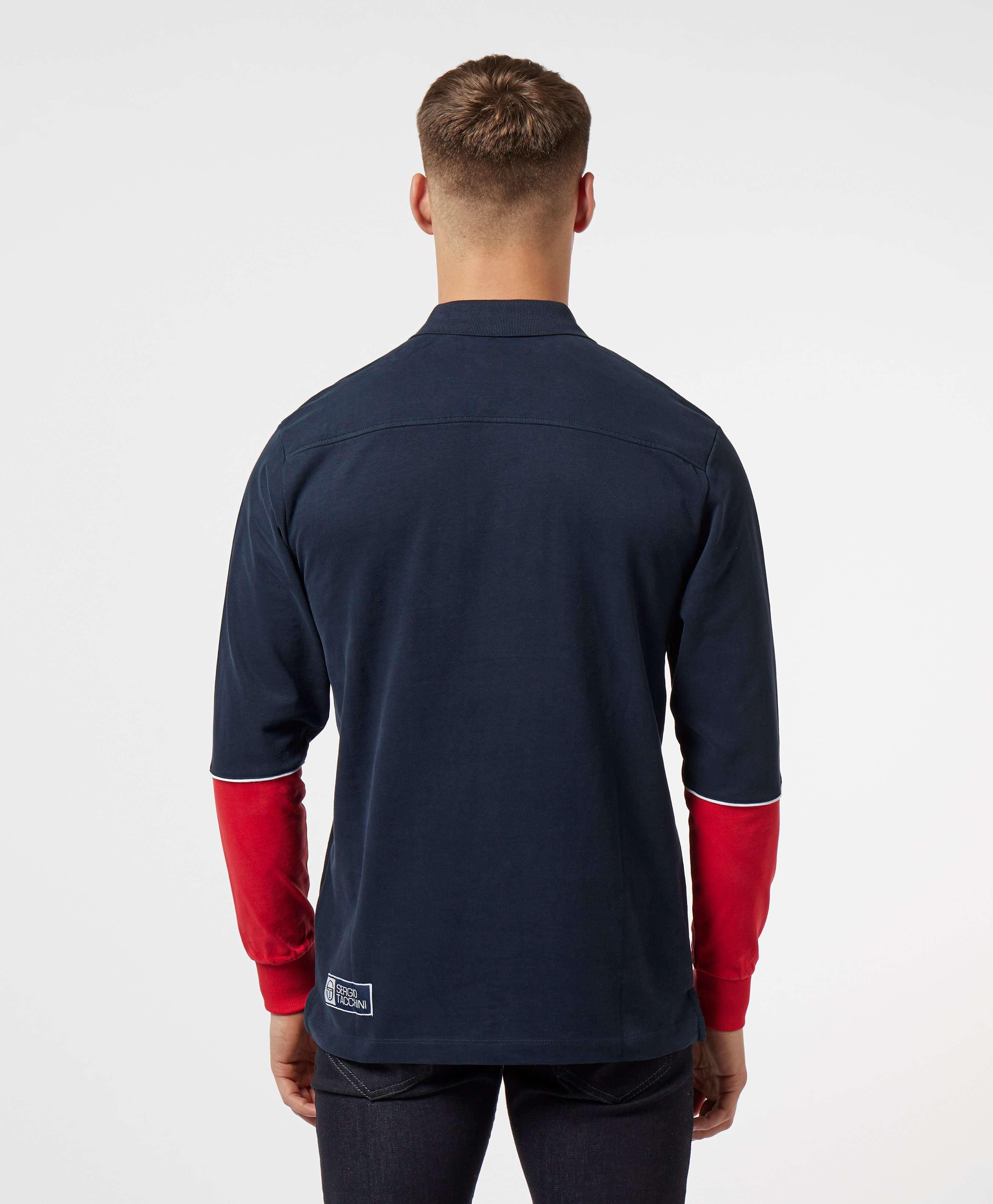 Sergio Tacchini Iller Long Sleeve Polo Shirt