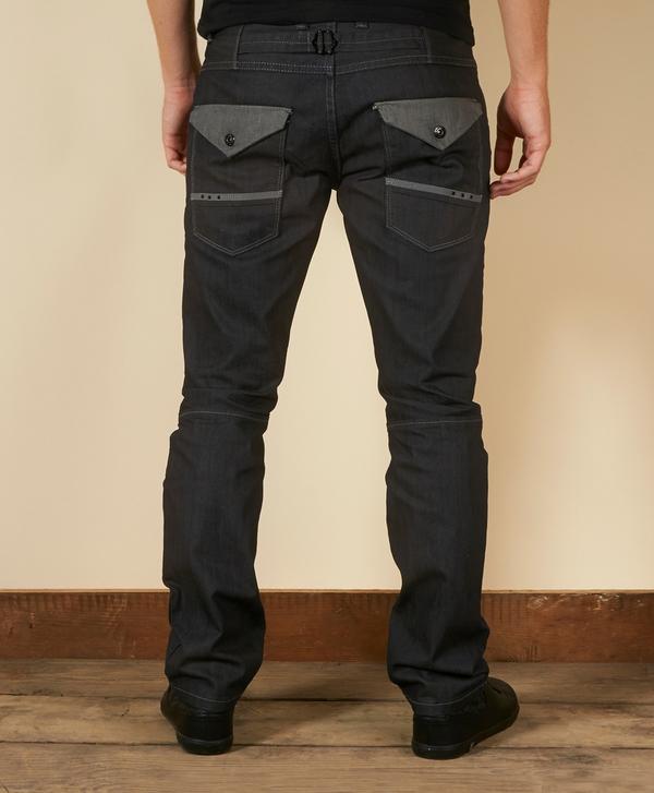 Voi Jeans Ripley 2 Tone Worker Fit Jeans Short Scotts Menswear