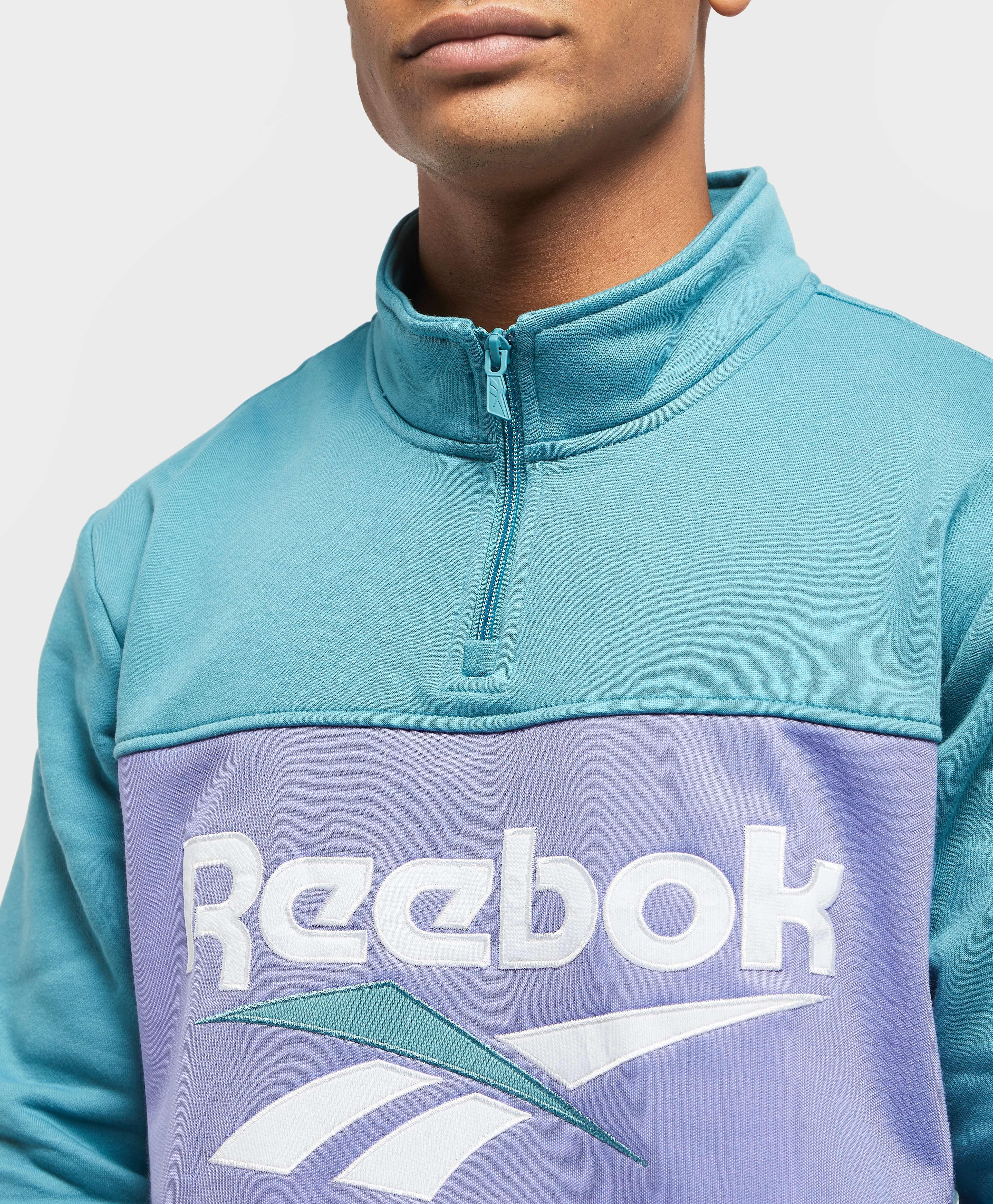 Reebok Vector 1/2 Zip Fleece Sweatshirt