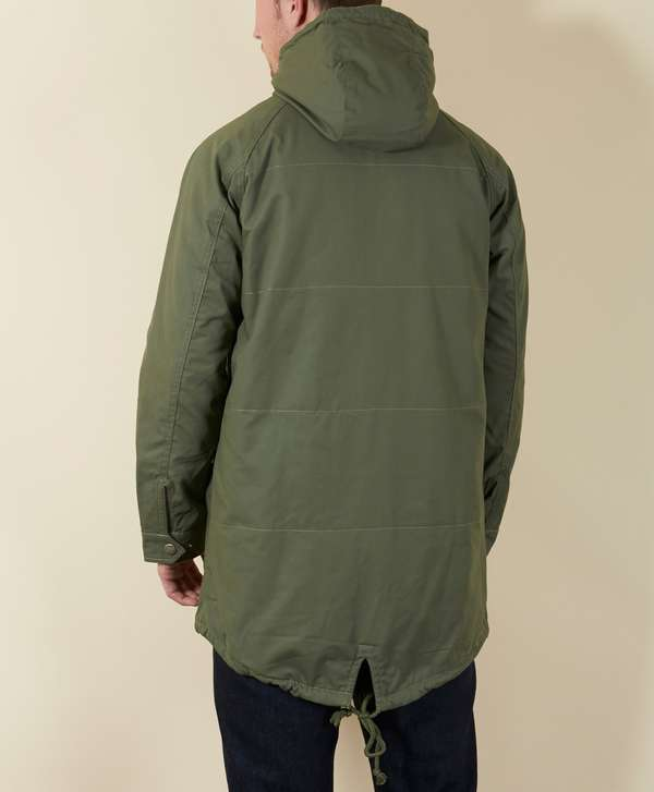 adidas Originals Enhanced Fashion Fishtail Parka | scotts Menswear