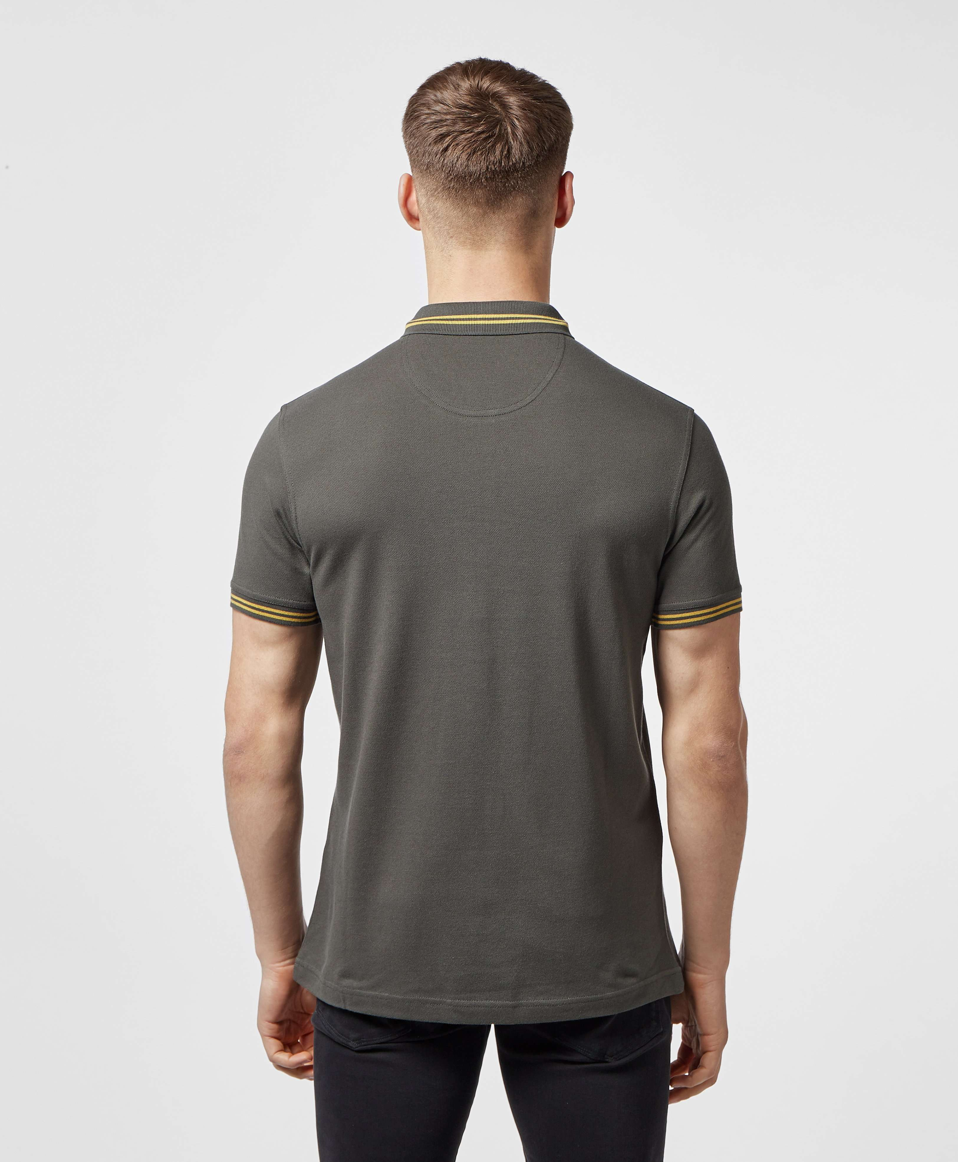 Barbour International Tipped Short Sleeve Polo Shirt