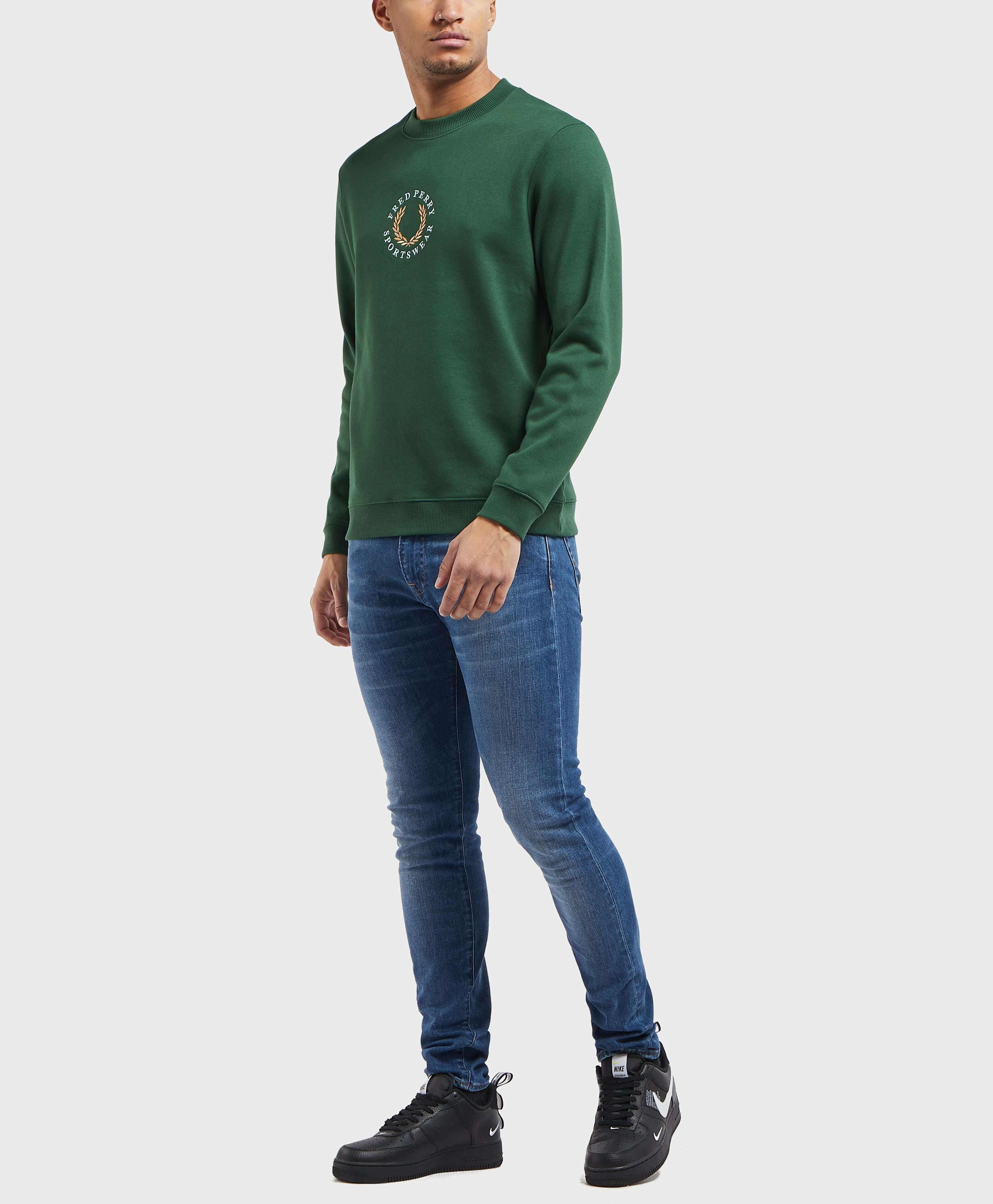 Fred Perry Global Branded Sweatshirt