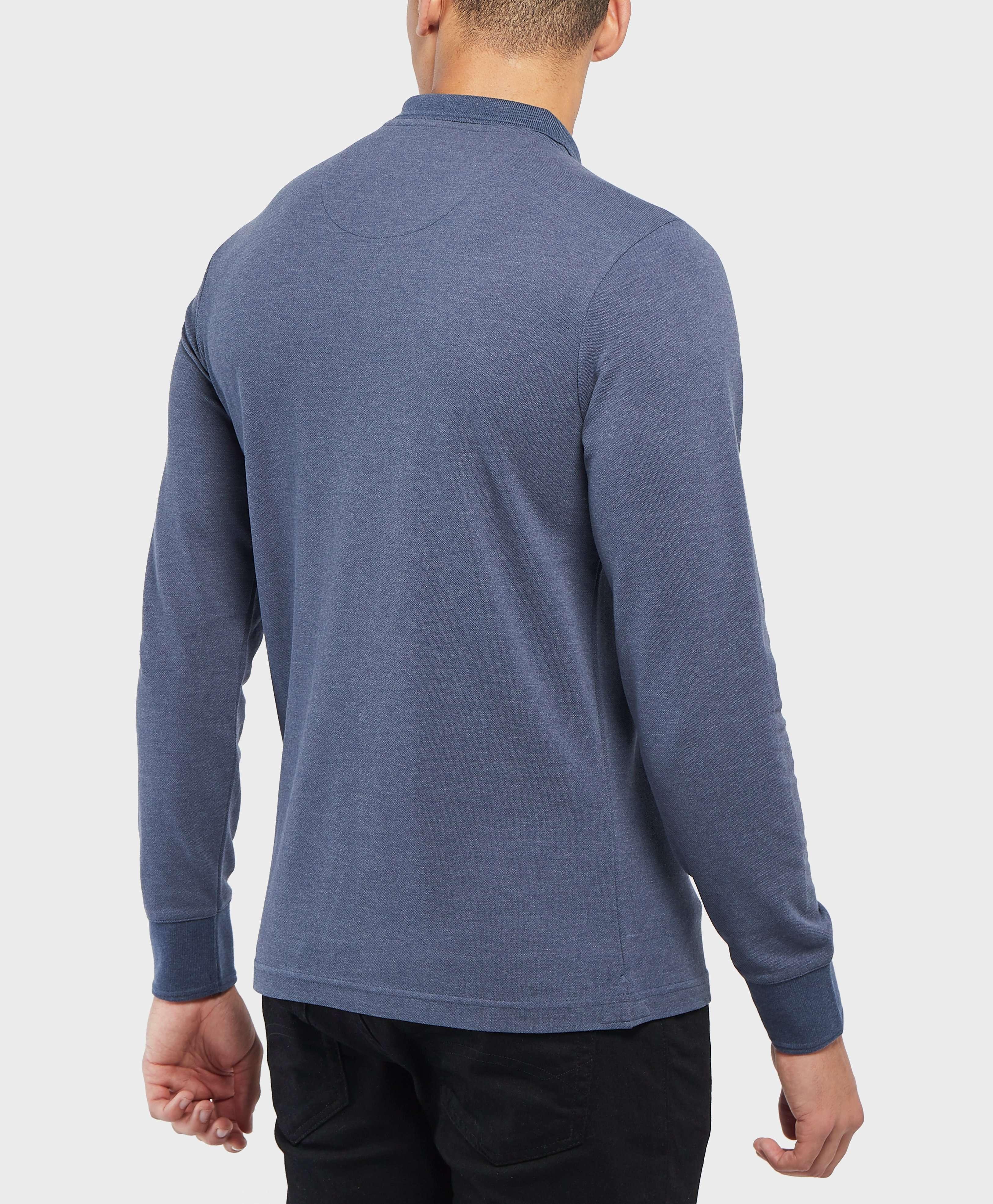 Original Penguin Long Sleeve Logo Polo Shirt
