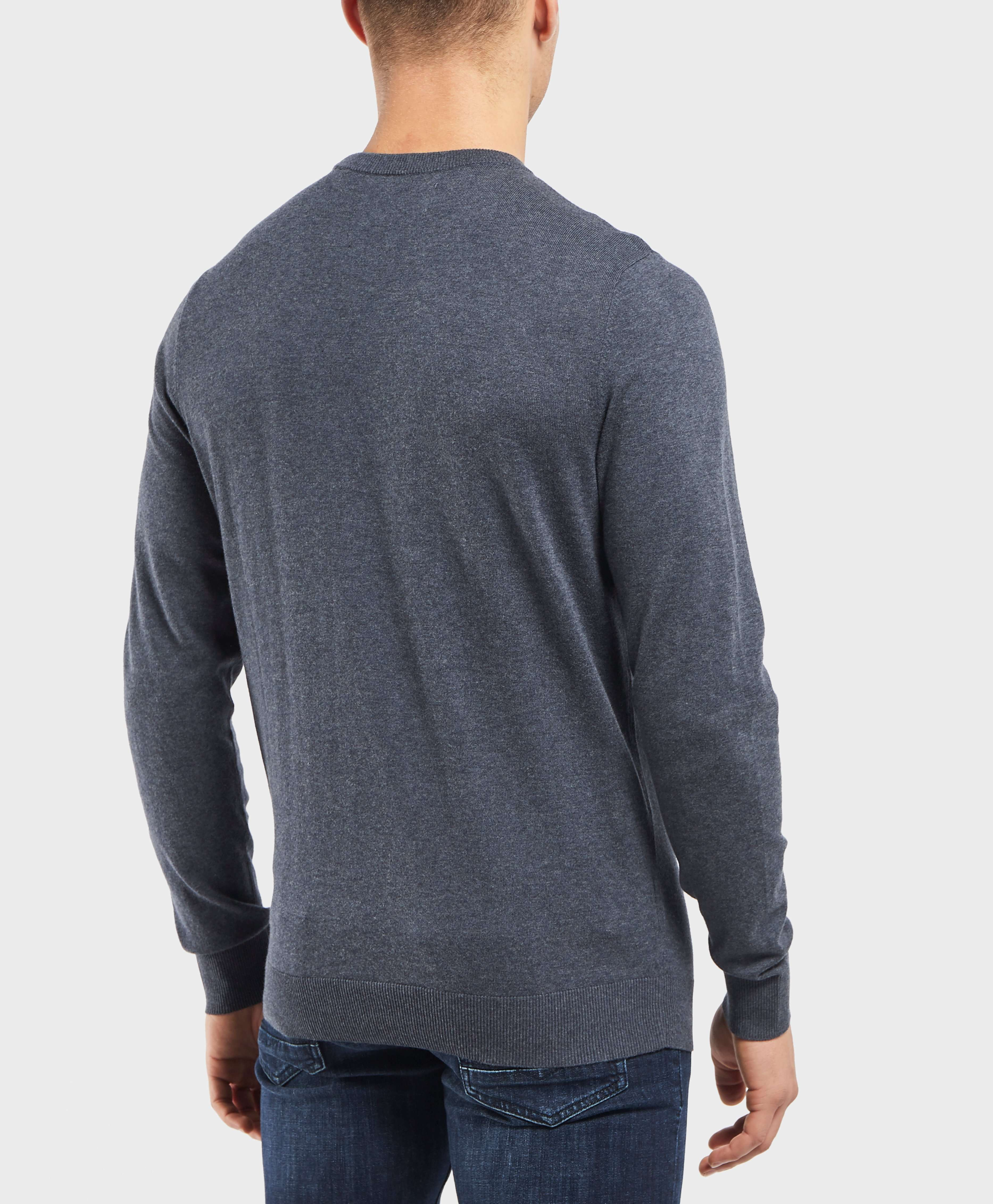 Original Penguin Logo Crew Knitted Jumper