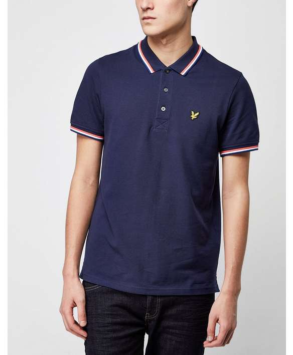 Lyle & Scott Tiped Polo Shirt