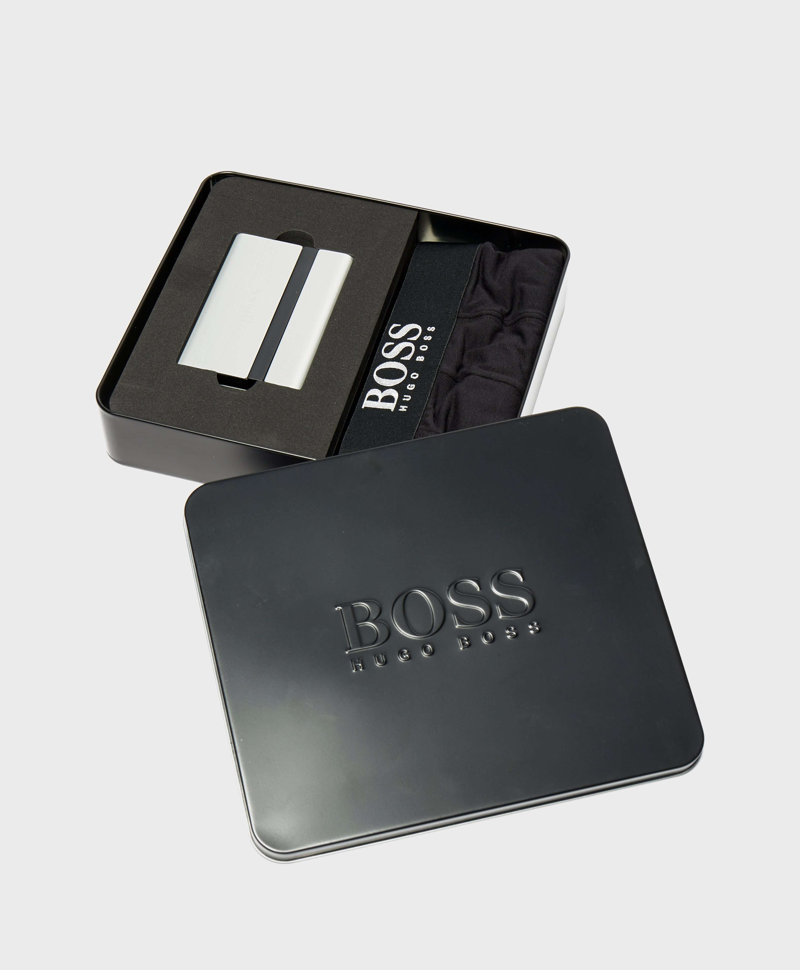 BOSS Boxer and Card Holder Set