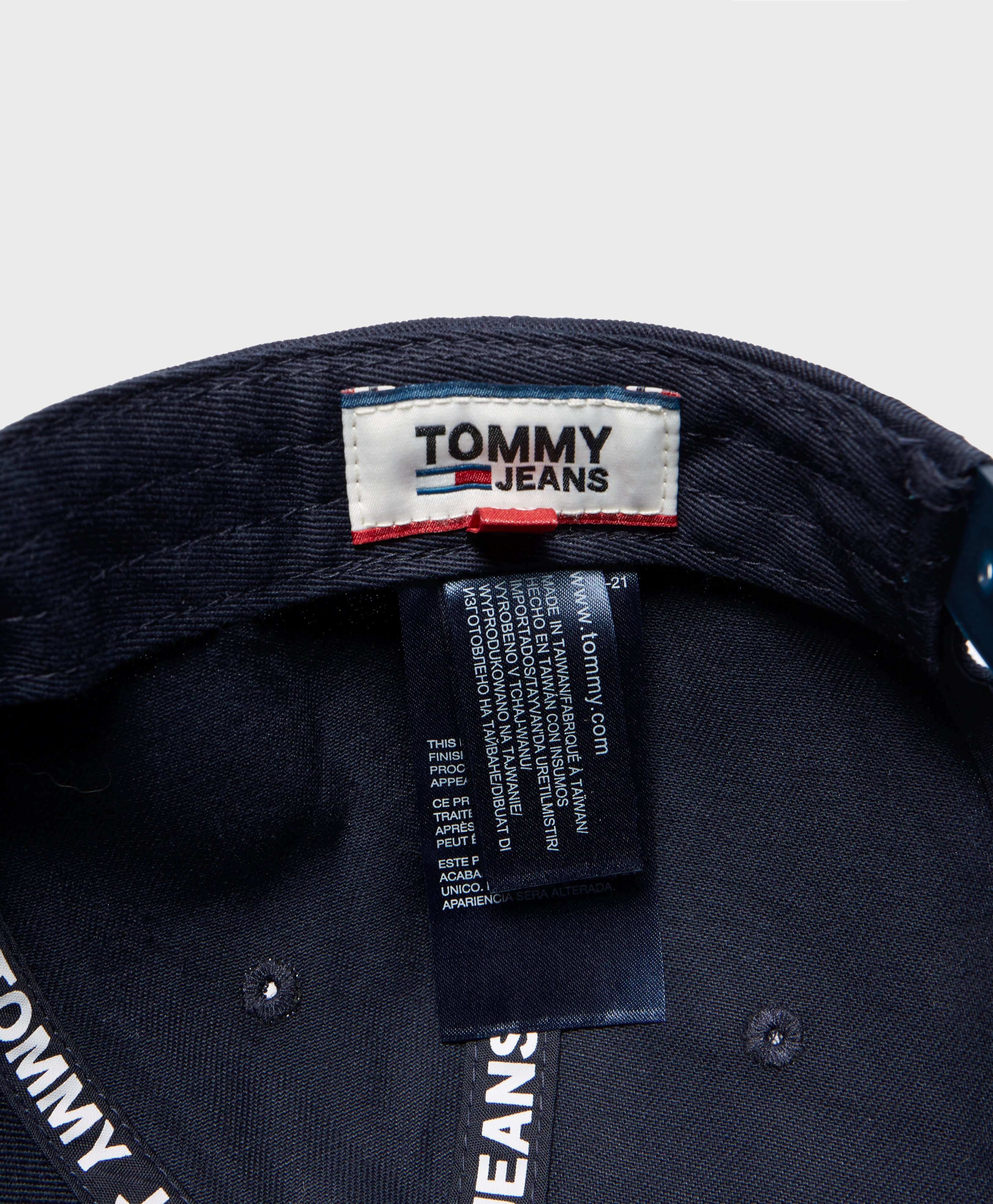Tommy Jeans Flock Logo Cap - Online Exclusive