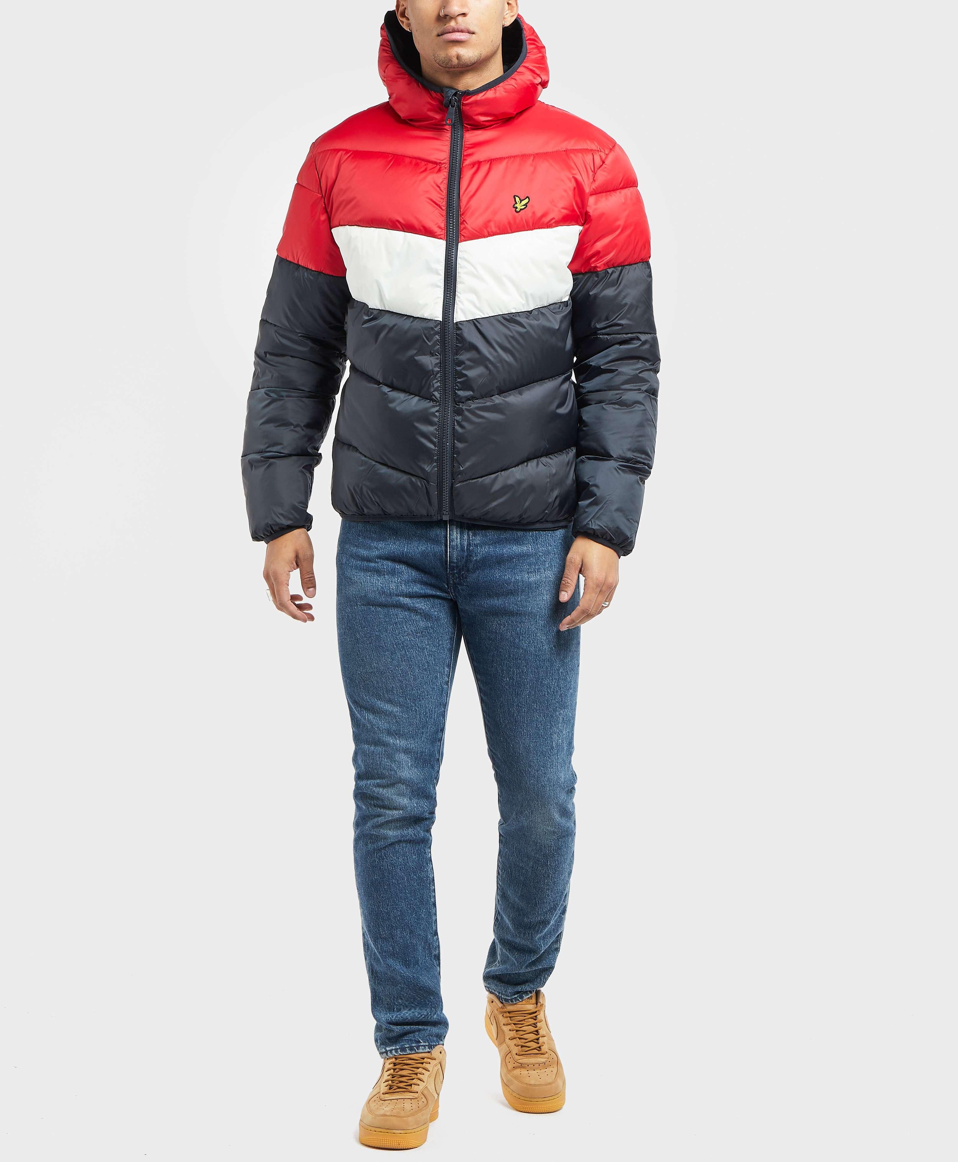 Lyle & Scott Colour Block Padded Jacket