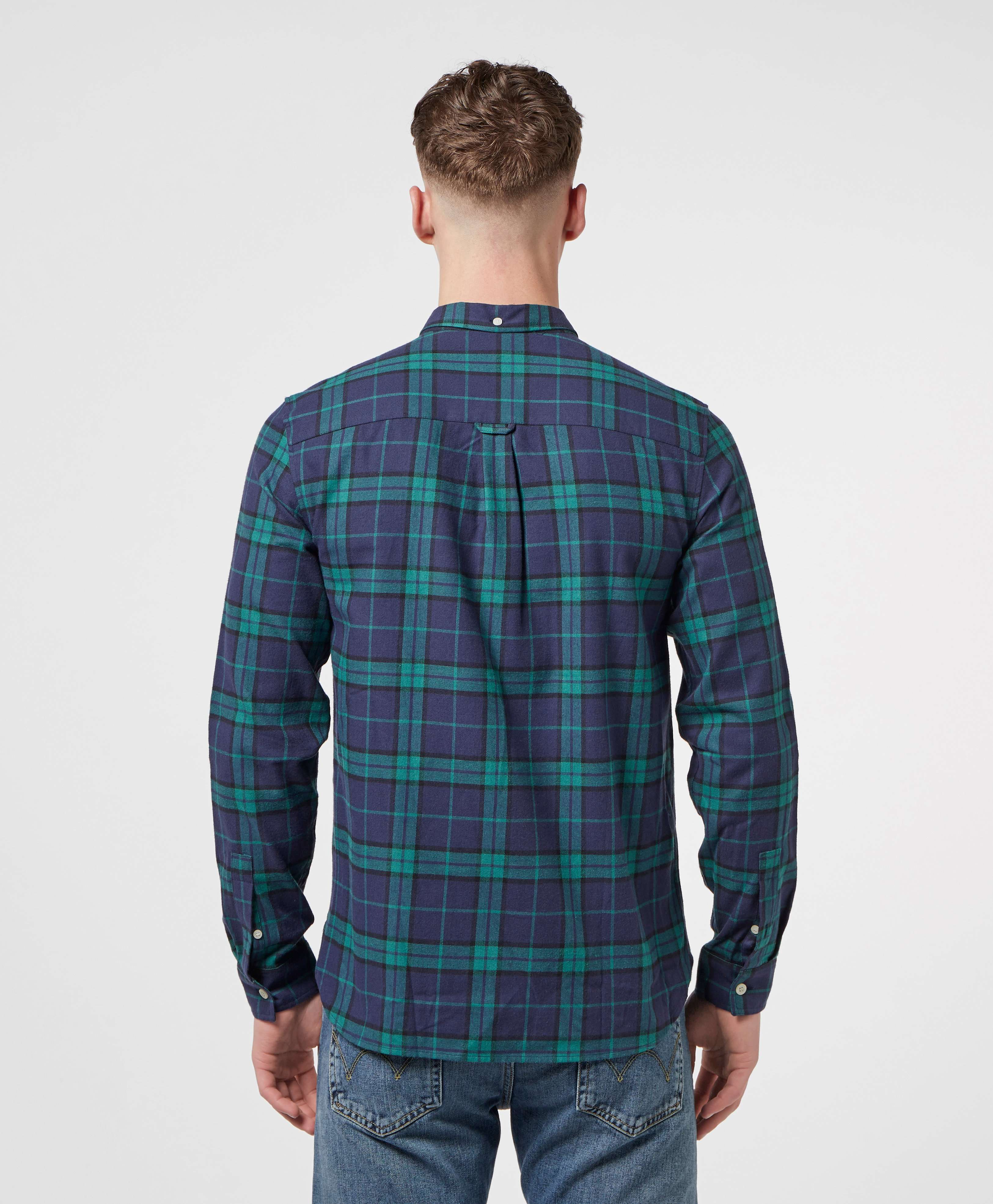 Lyle & Scott Check Flannel Long Sleeve Shirt
