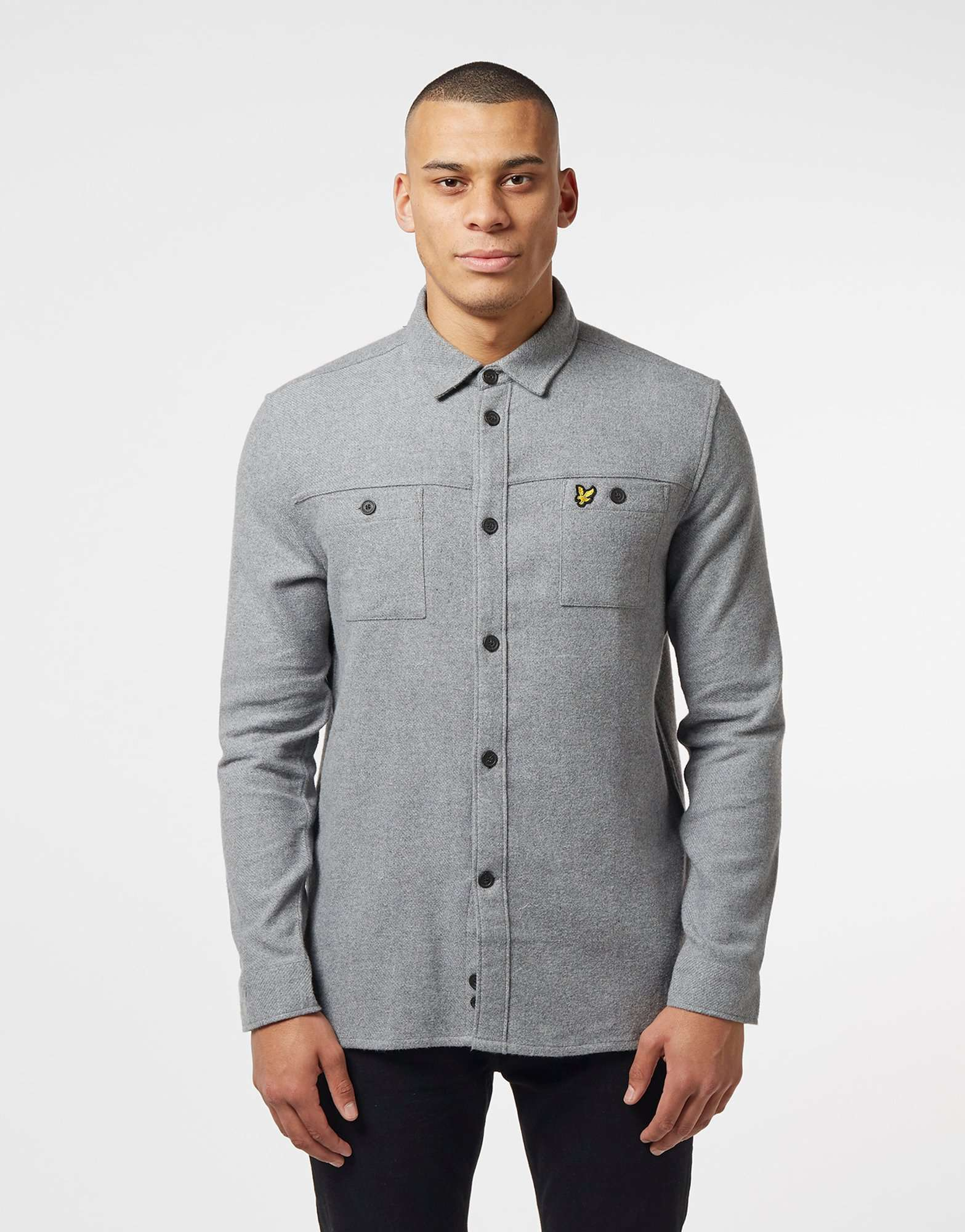 Lyle & Scott Brushed Long Sleeve Overshirt