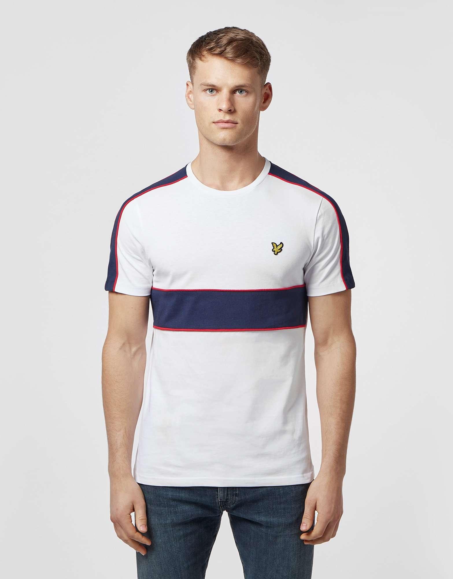 Lyle & Scott Cut And Sew Short Sleeve T-Shirt