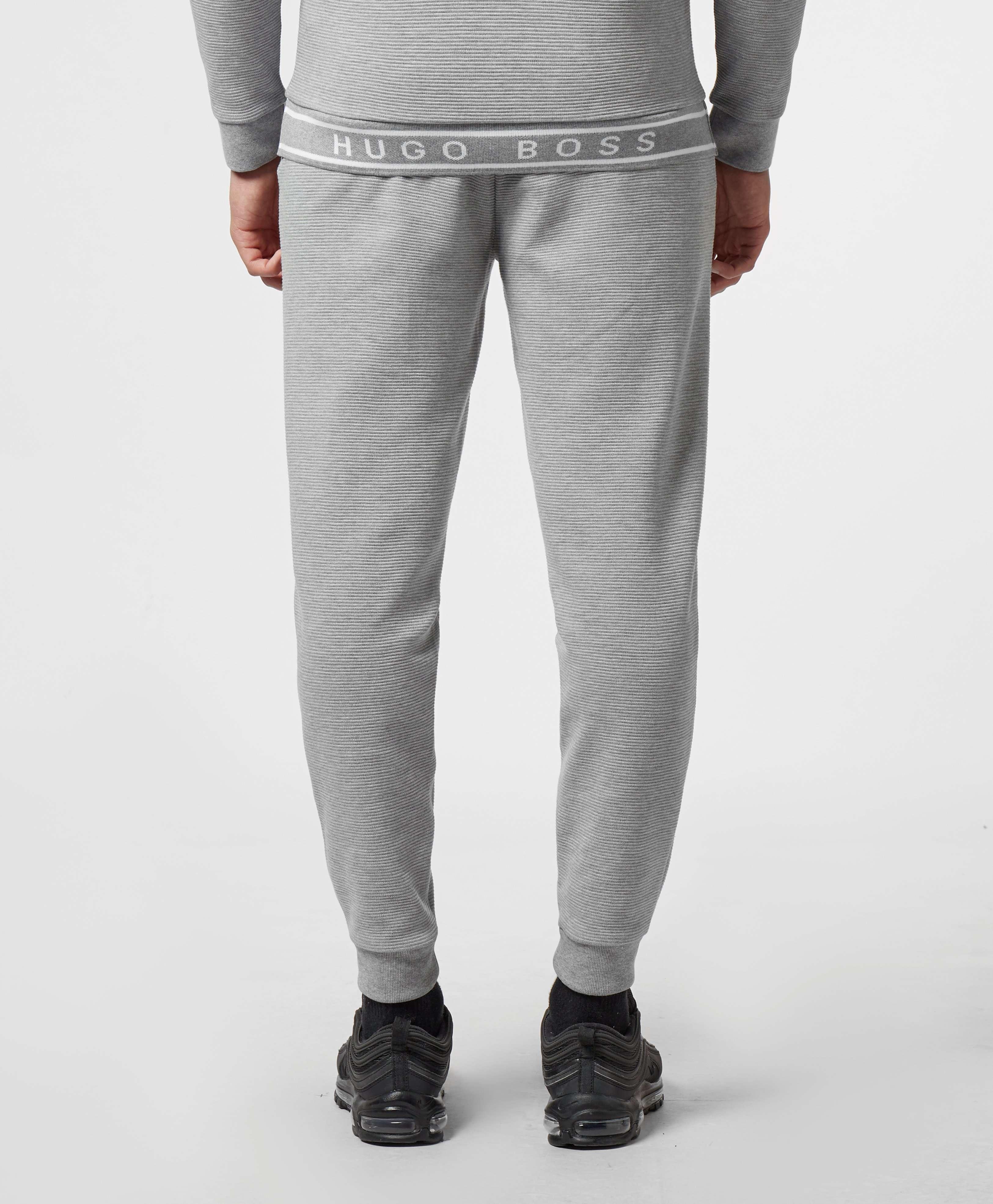 BOSS Taped Ribbed Fleece Pants