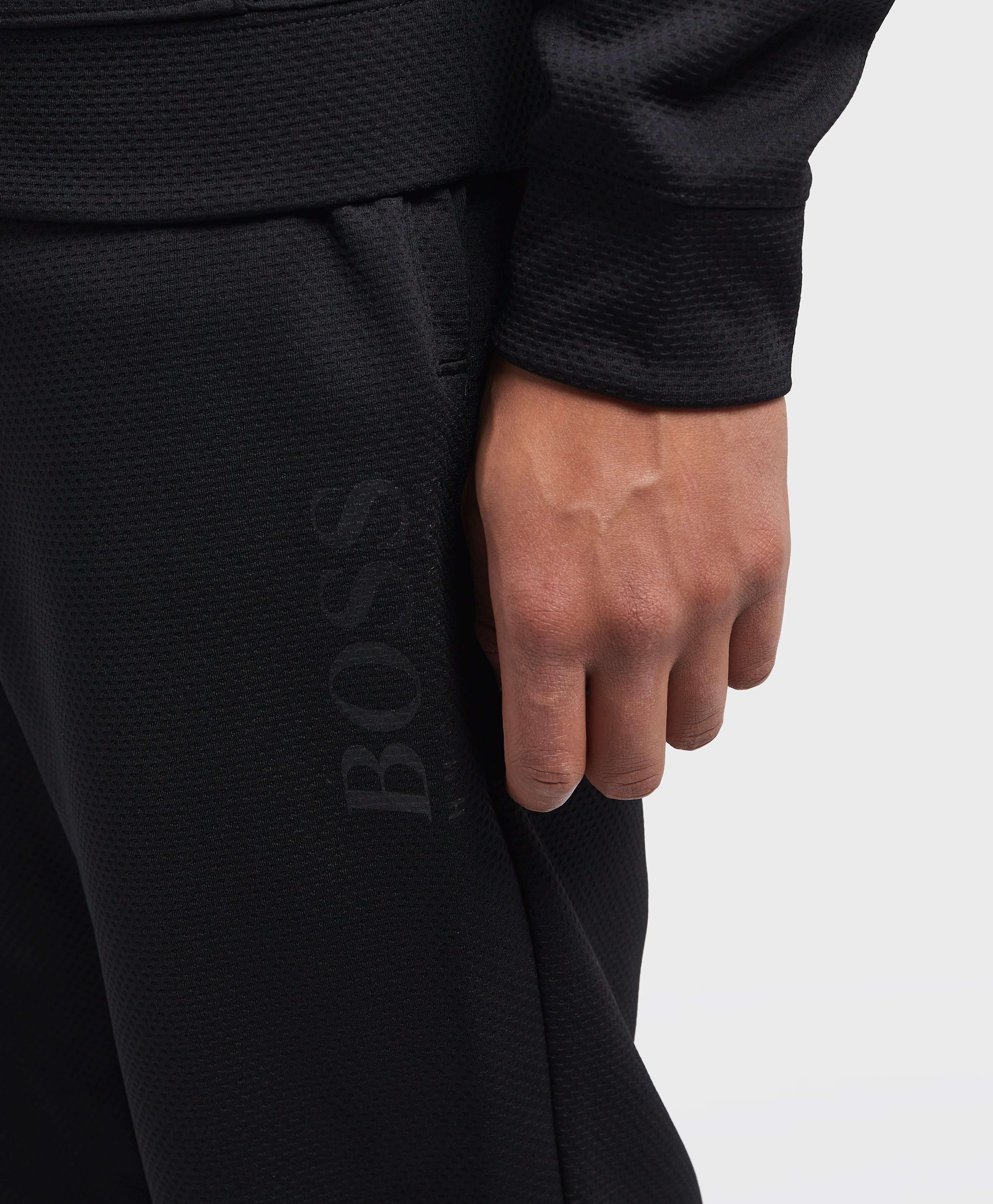BOSS Pique Cuffed Fleece Pants