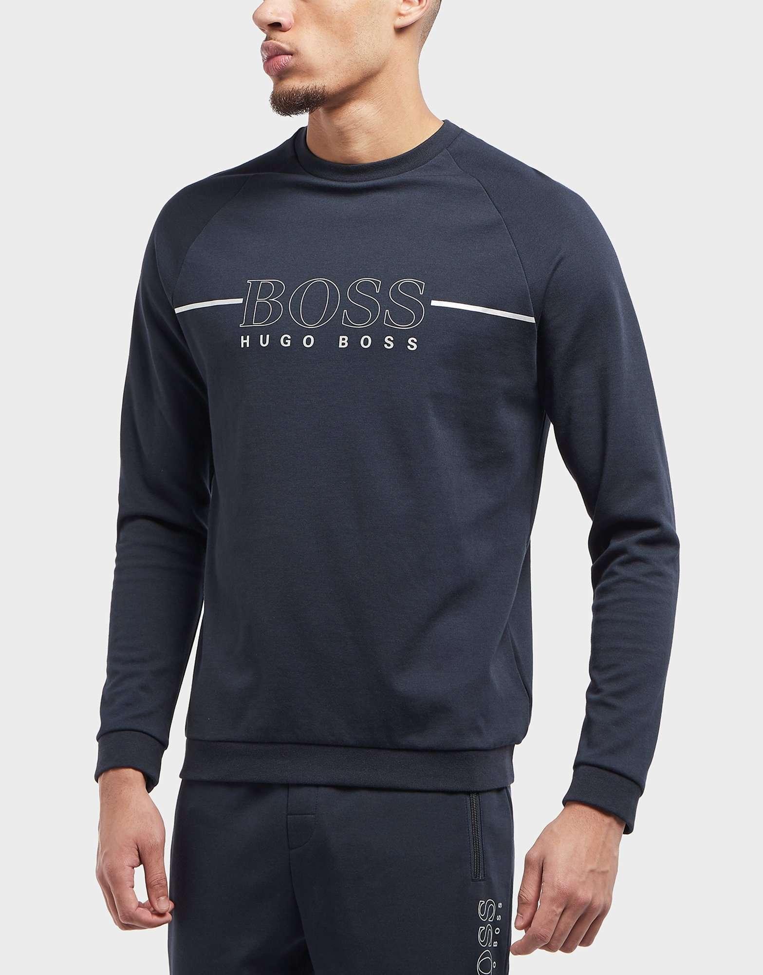 BOSS Foil Fleece Crew Sweatshirt