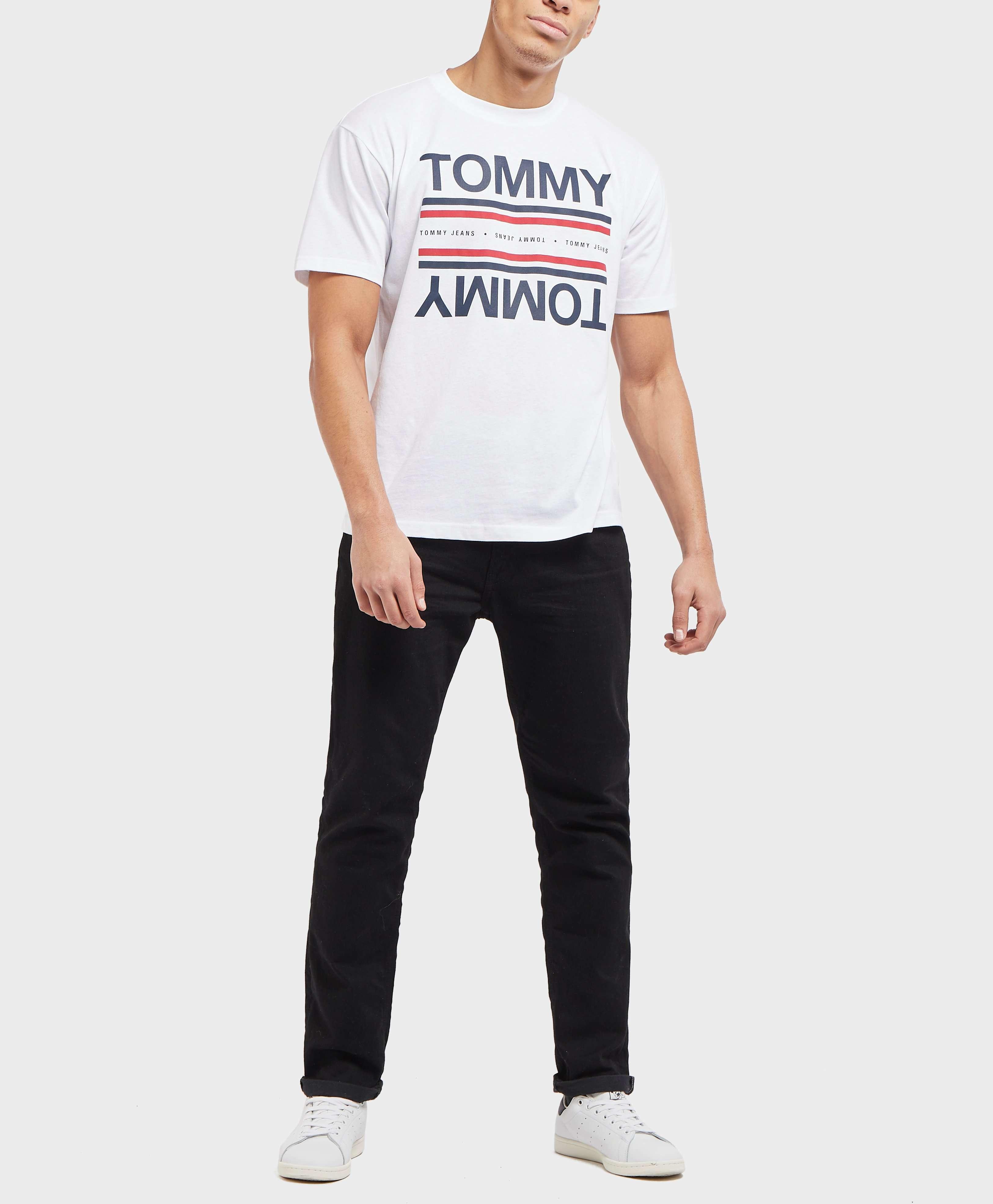 Tommy Jeans Reflect Logo Short Sleeve T-Shirt