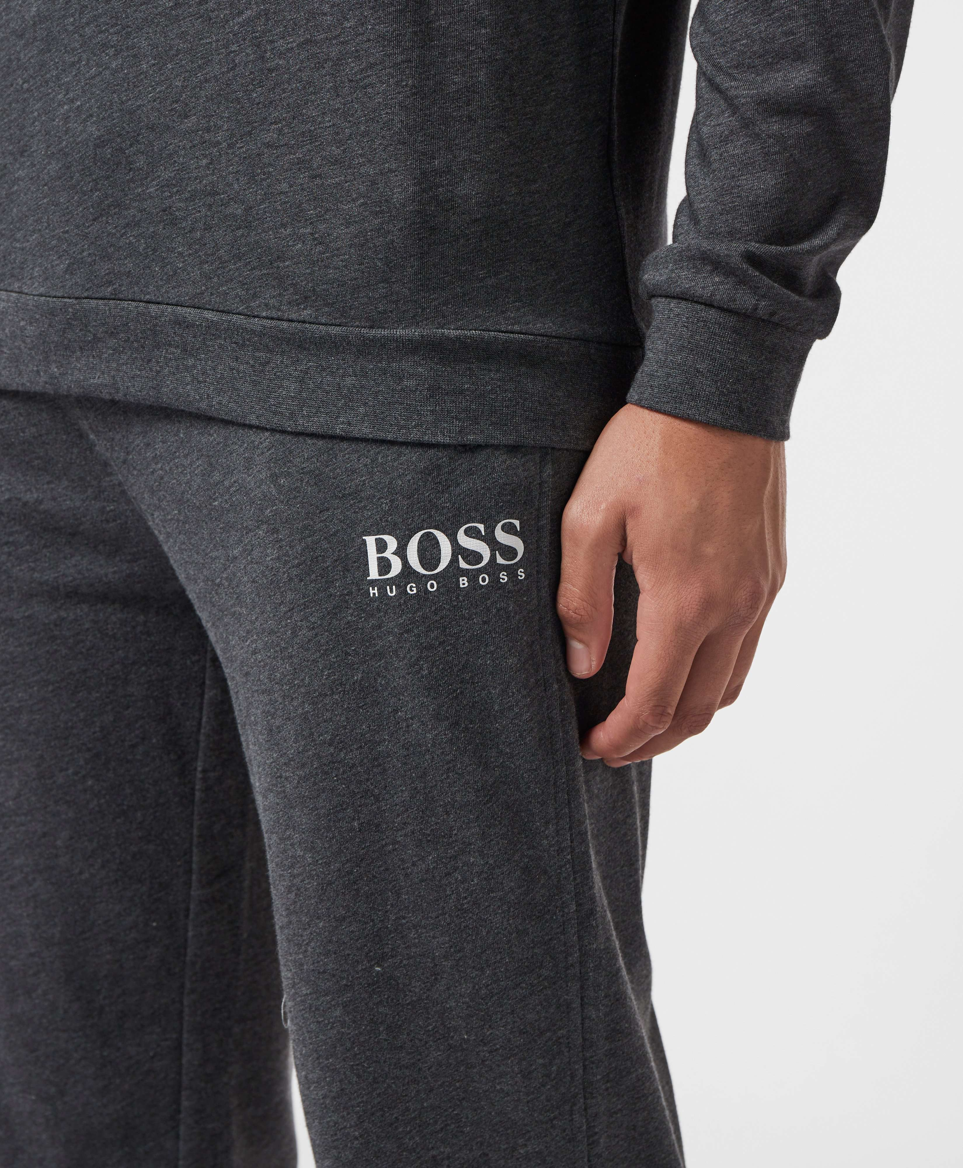 BOSS Small Logo Cuffed Fleece Pants