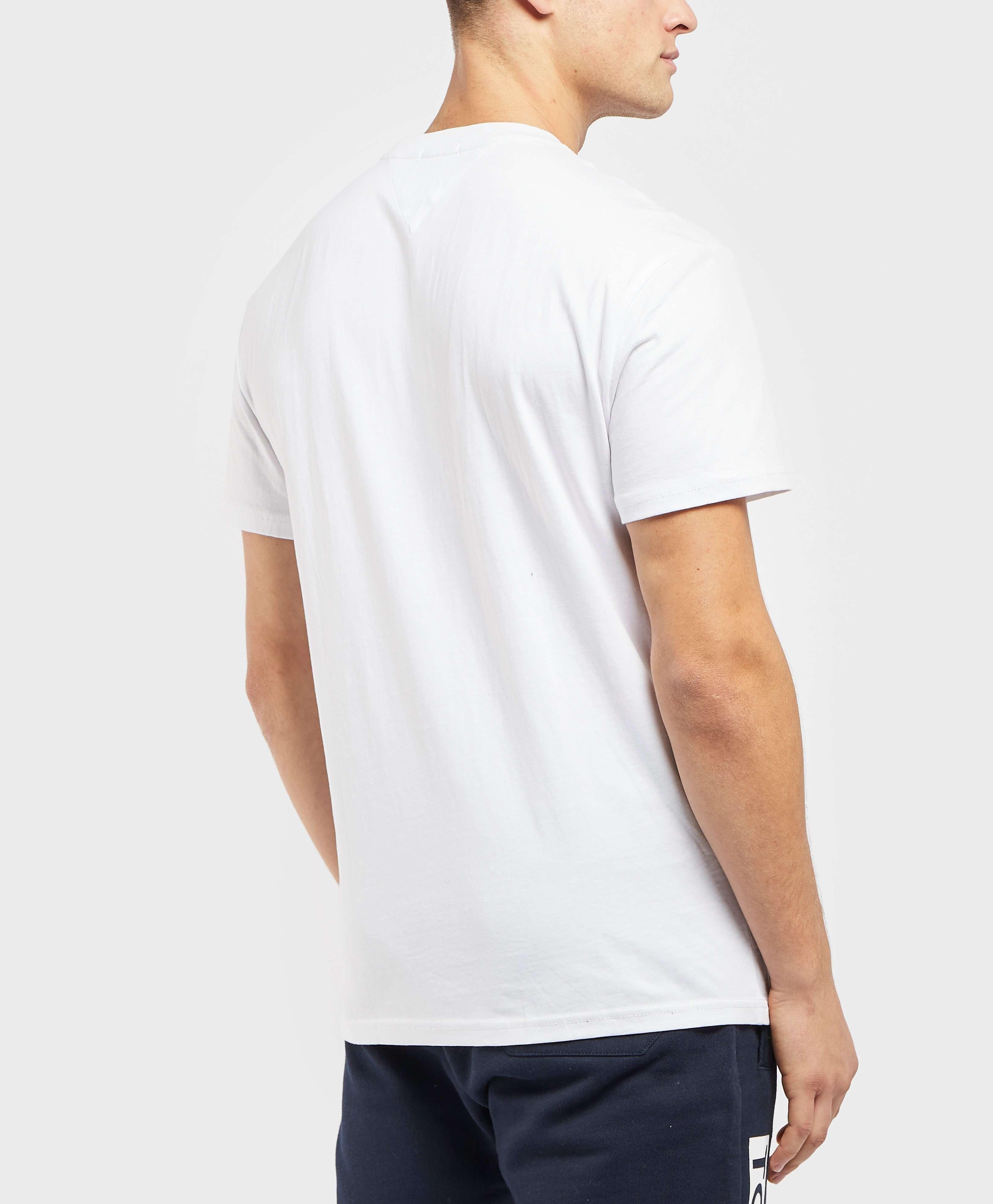 Tommy Jeans Graffiti Box Logo Short Sleeve T-Shirt