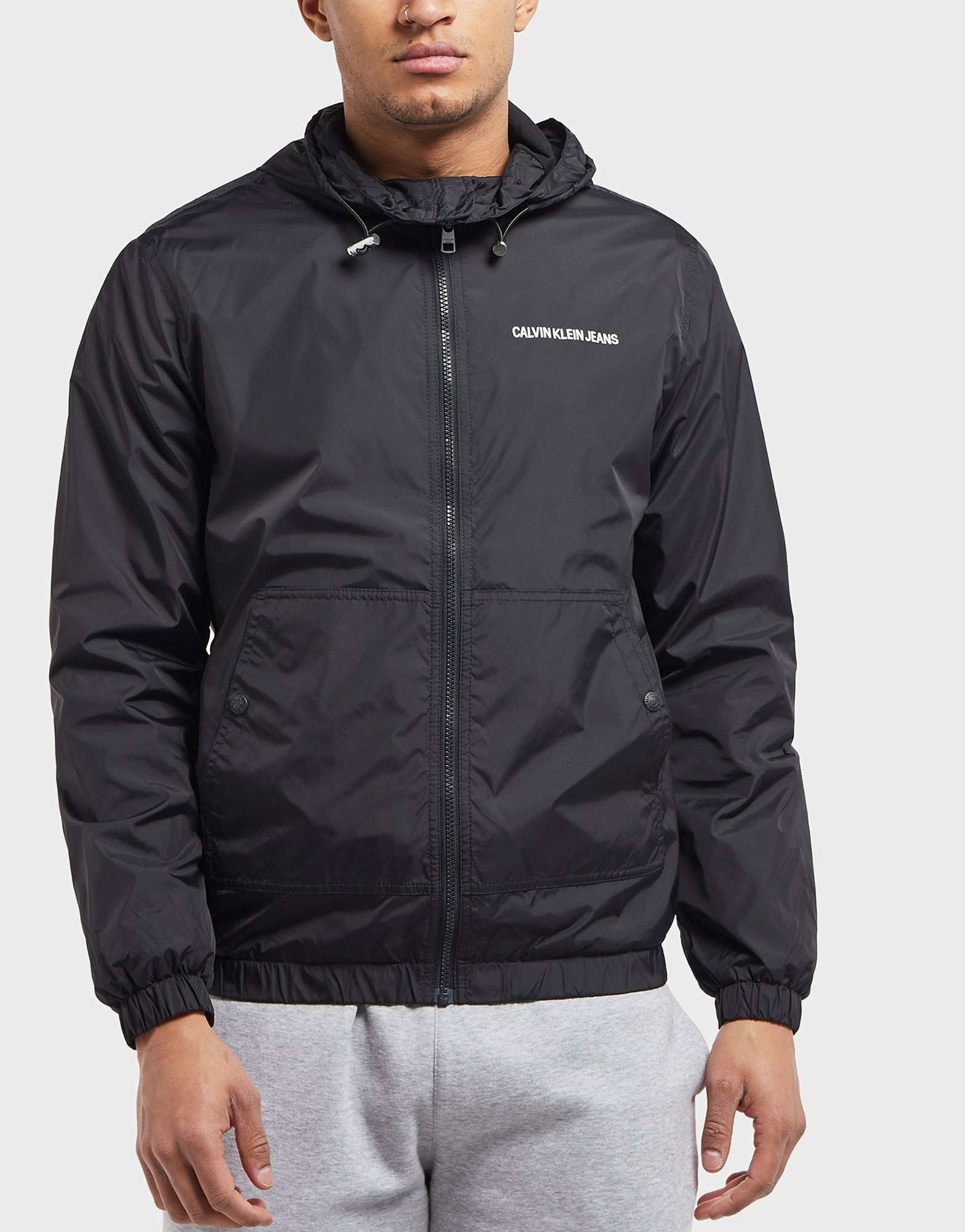 Calvin Klein Nylon Lightweight Jacket