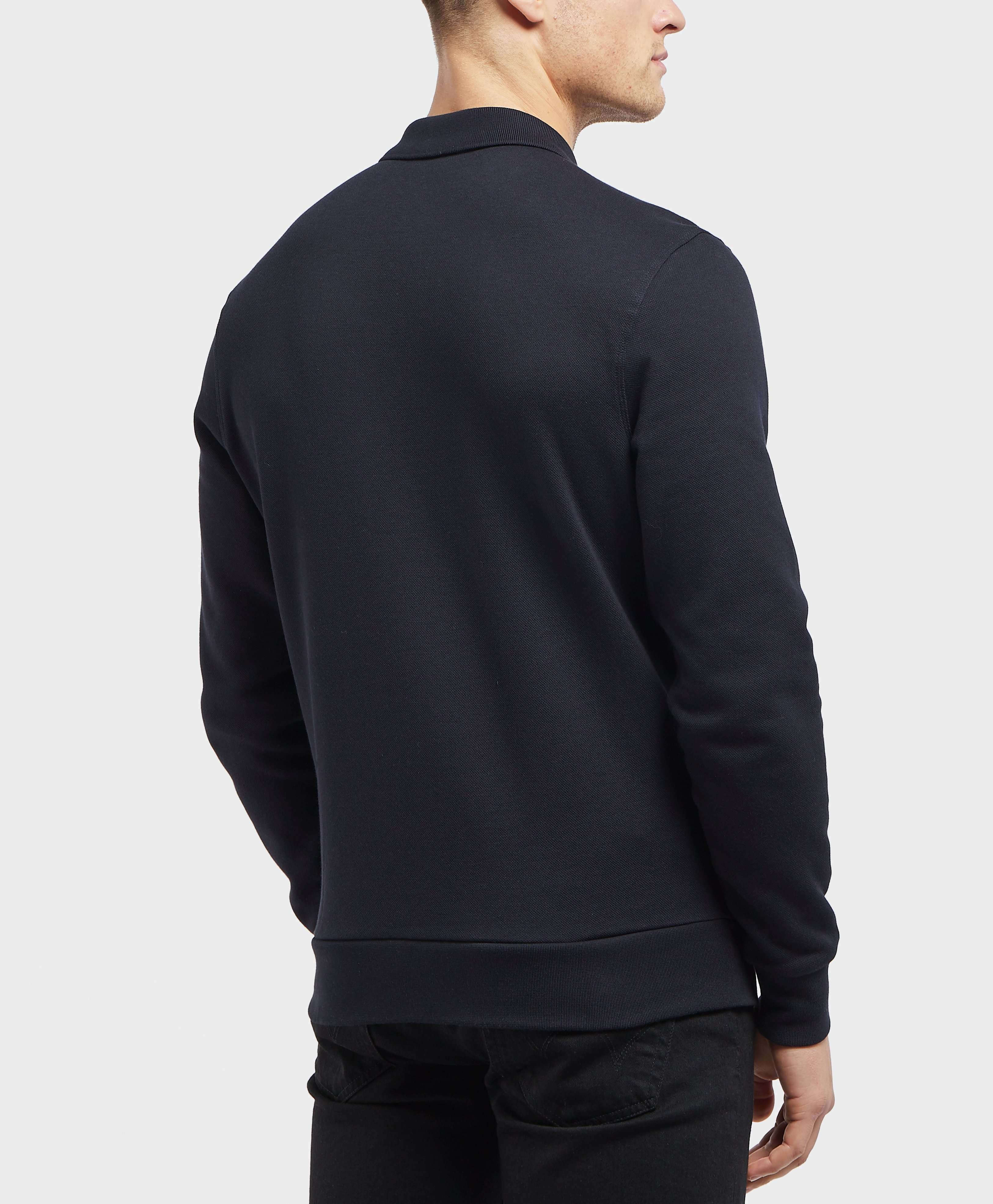 Fred Perry Heavyweight Pique Long Sleeve Polo Shirt
