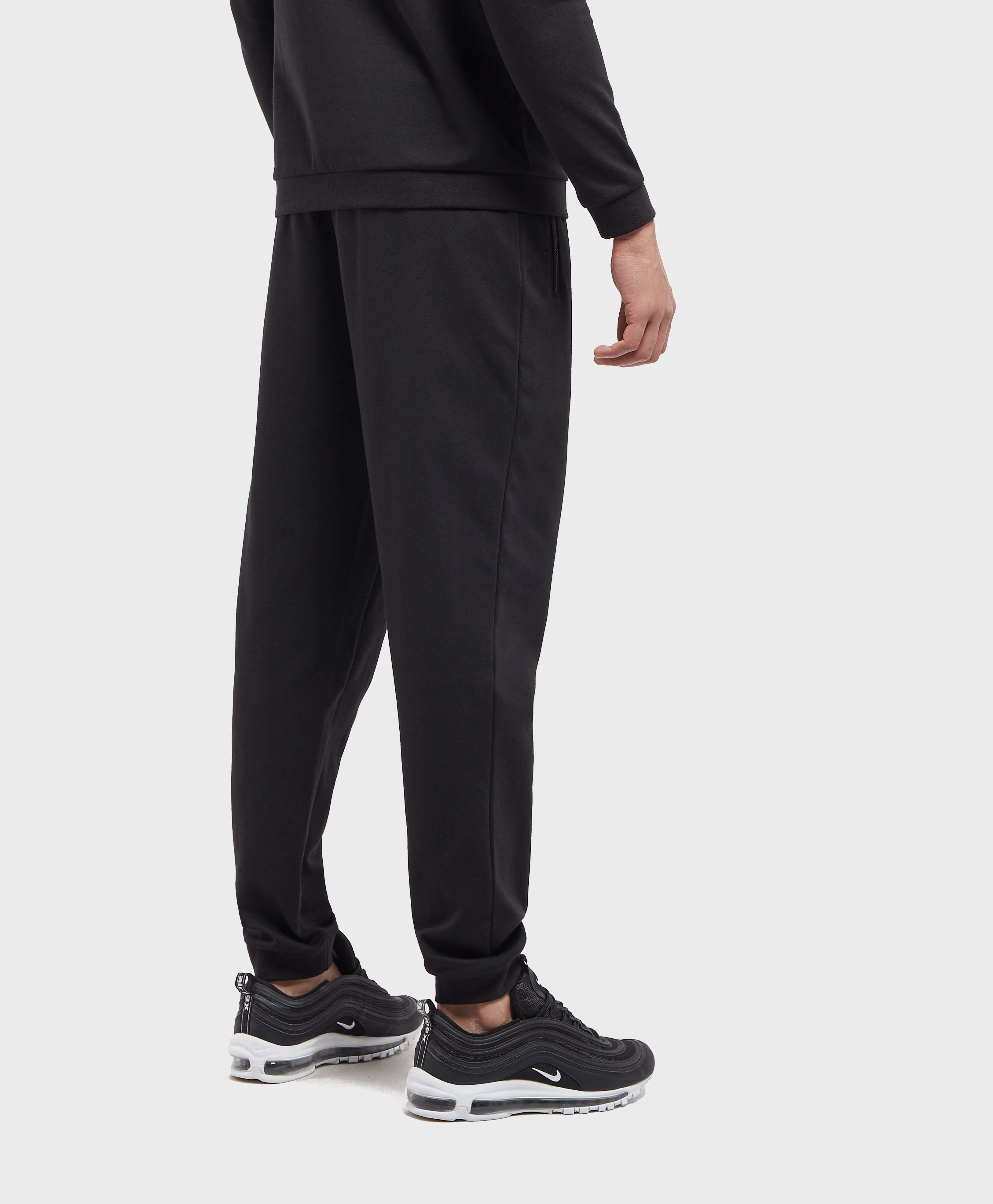 BOSS Foil Logo Cuffed Fleece Pants