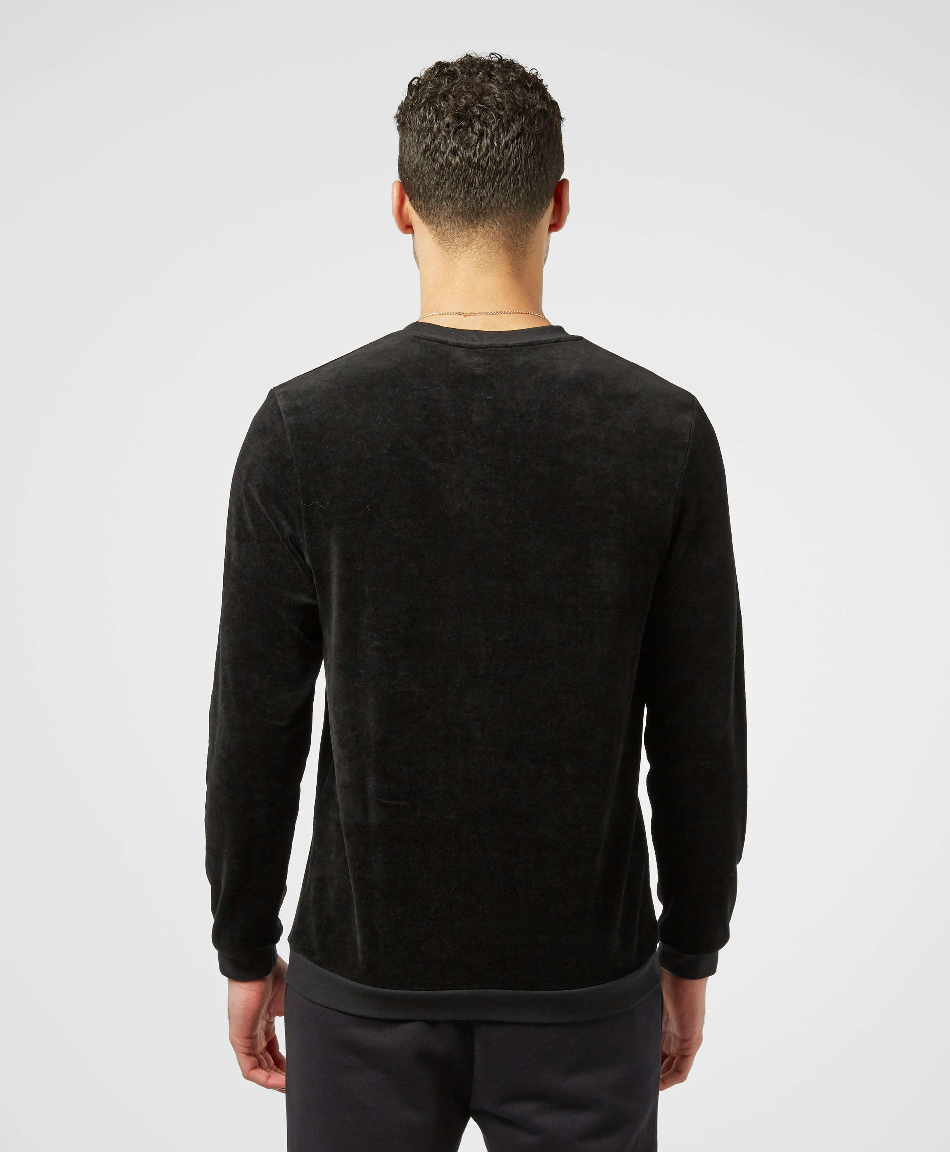 BOSS Velour Crew Neck Sweatshirt