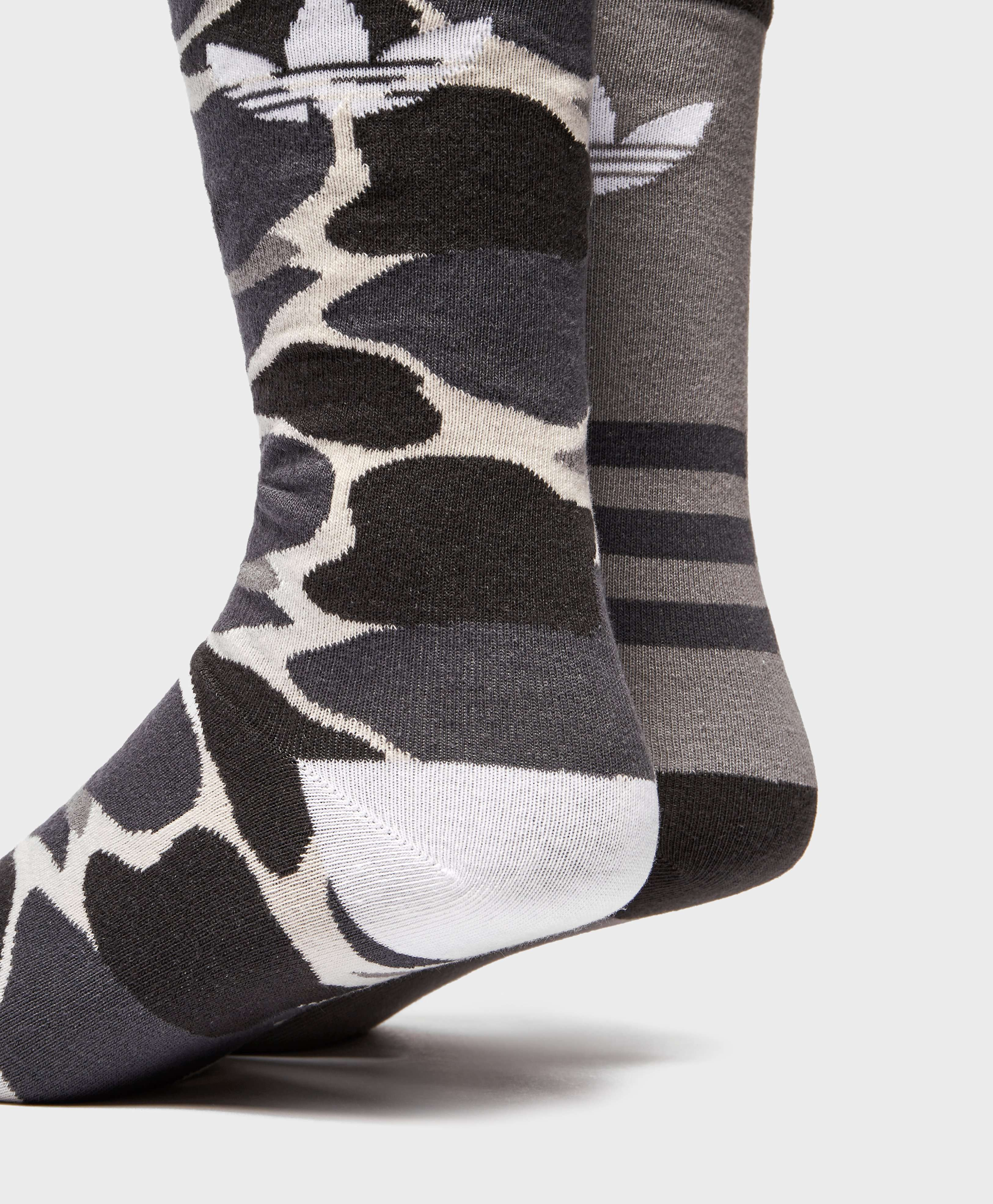 adidas Originals 2-Pack Camo Socks