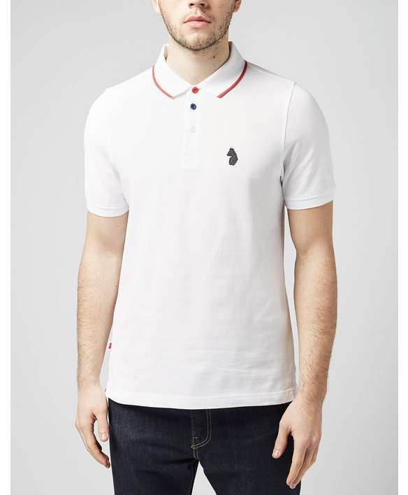 Luke 1977 melvin polo shirt scotts menswear for Luke donald polo shirts