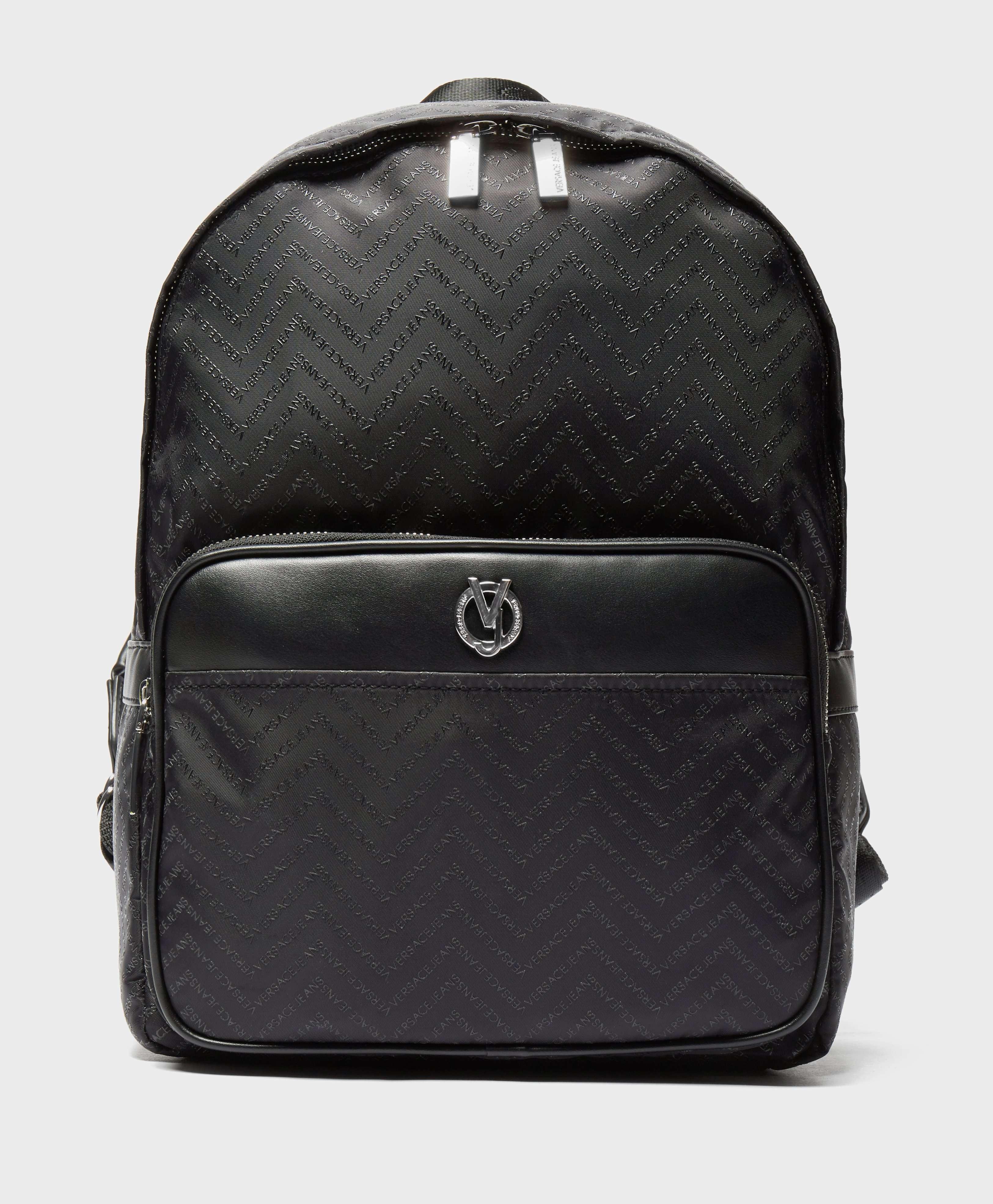 Versace Jeans Linea Chevron Backpack