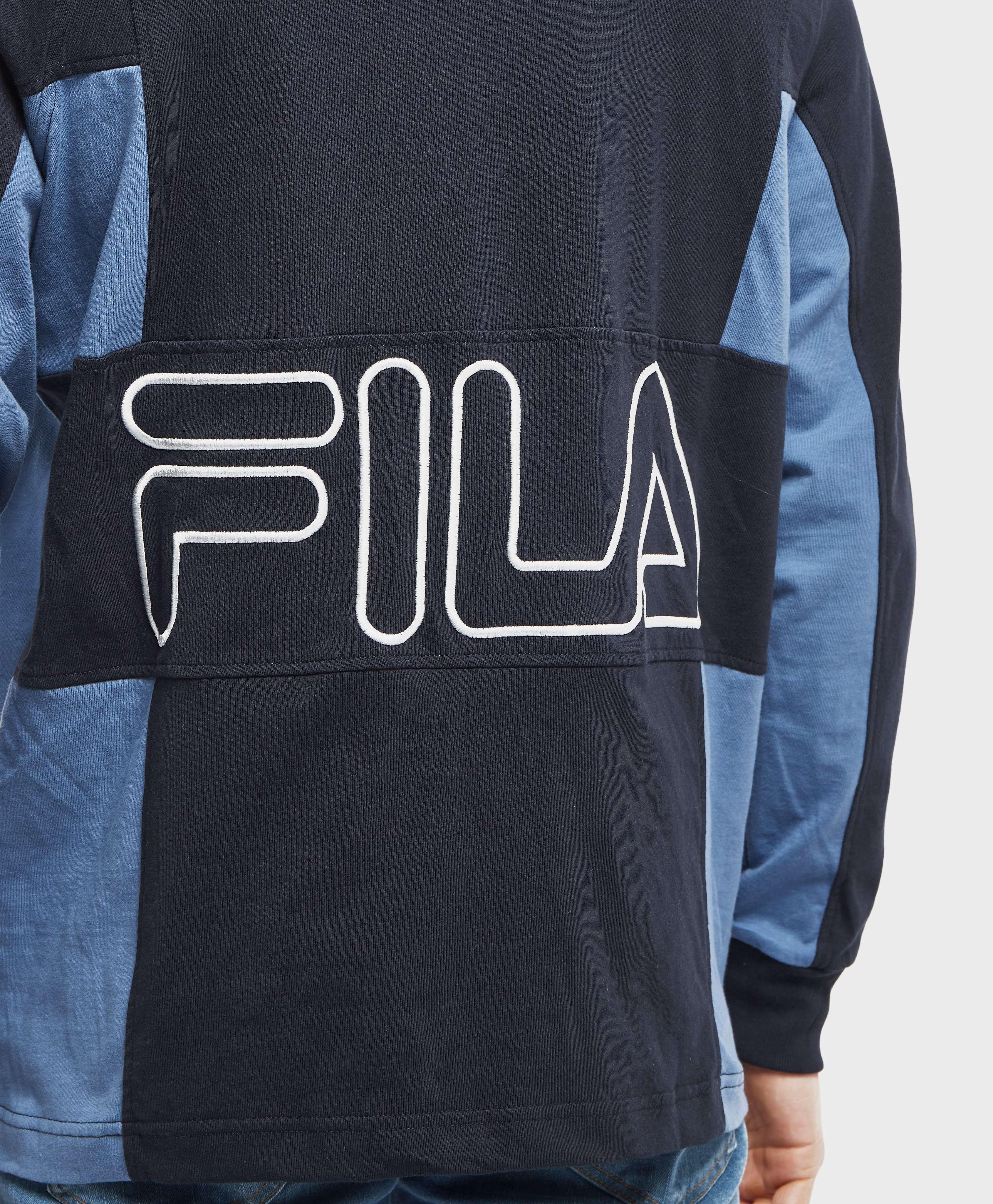 Fila Furchetta Long Sleeve Rugby Polo Shirt