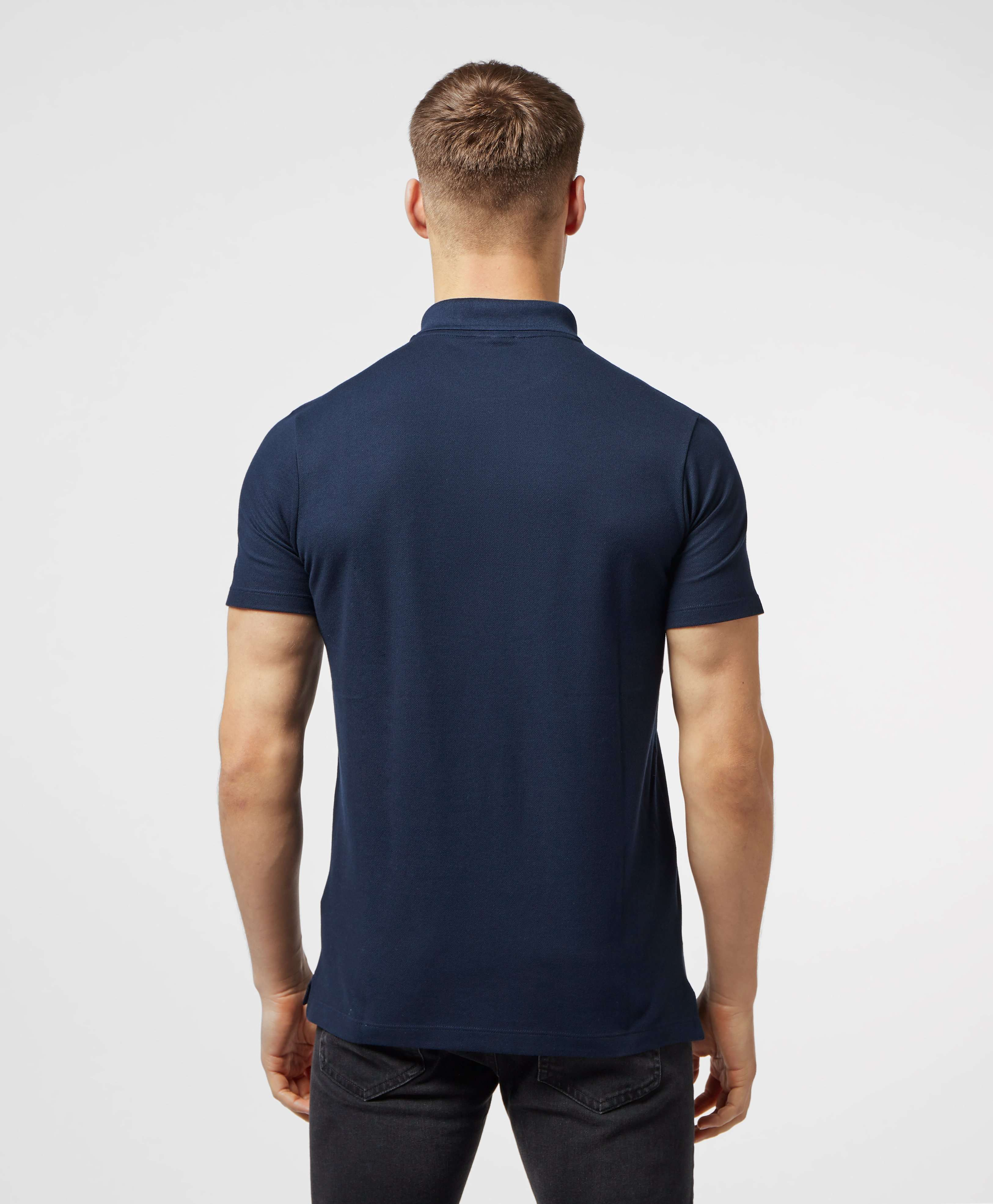 Paul and Shark Short Sleeve Pique Polo Shirt