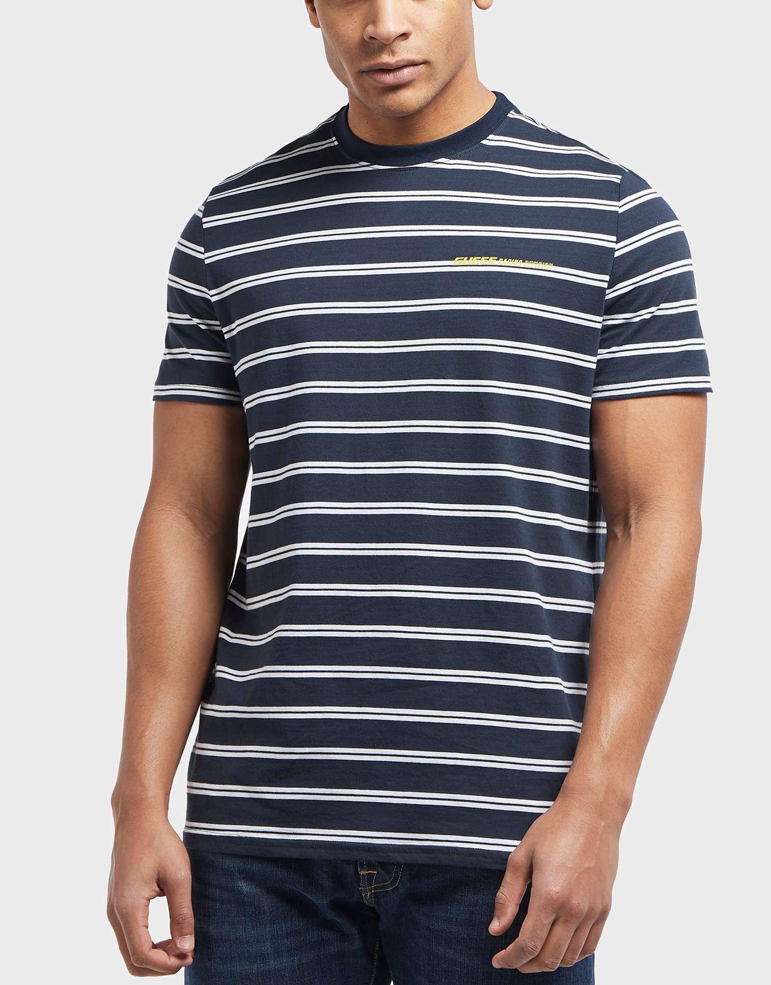 Guess Stripe Short Sleeve T-Shirt - Online Exclusive
