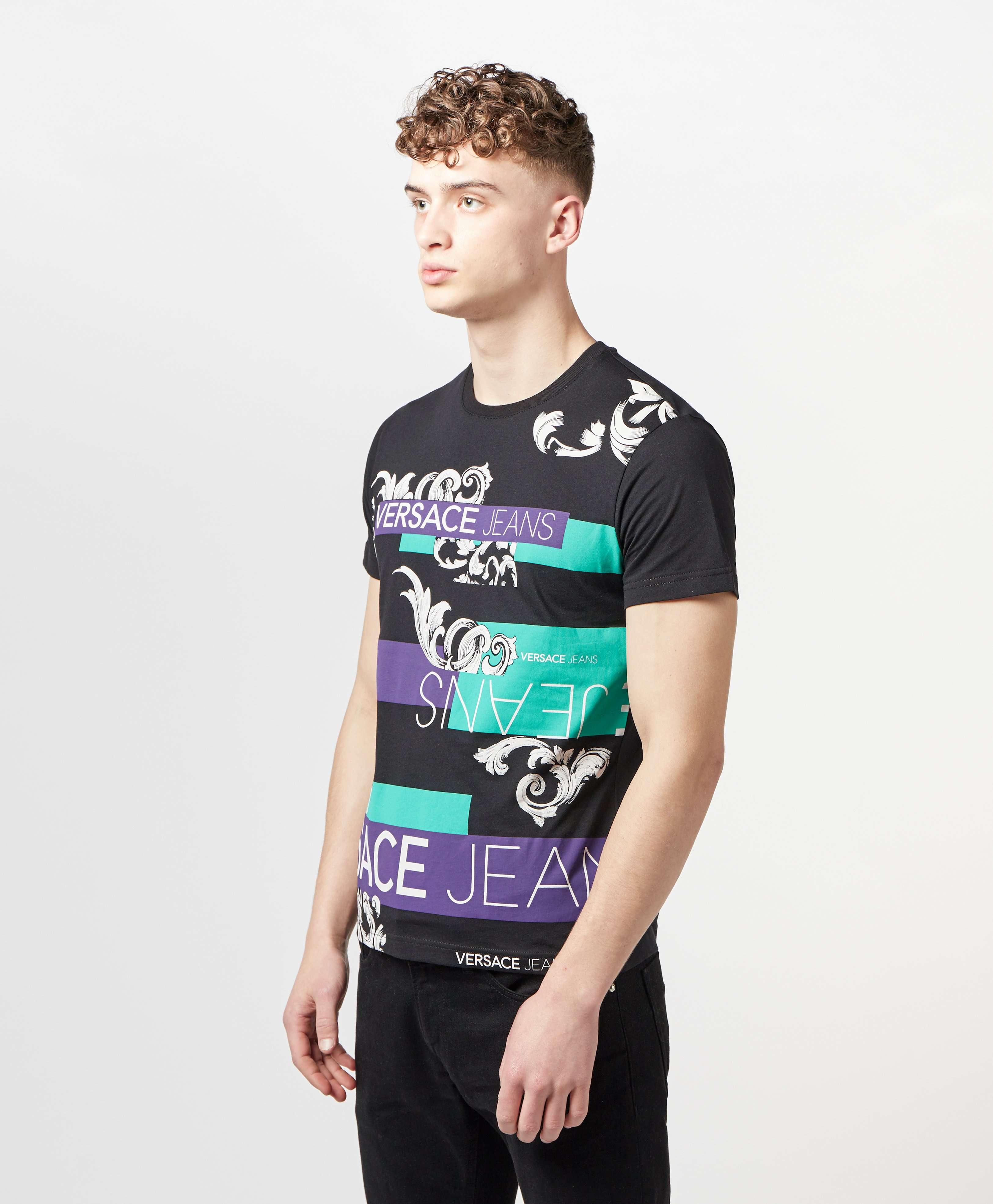 Versace Jeans Block Short Sleeve T-Shirt