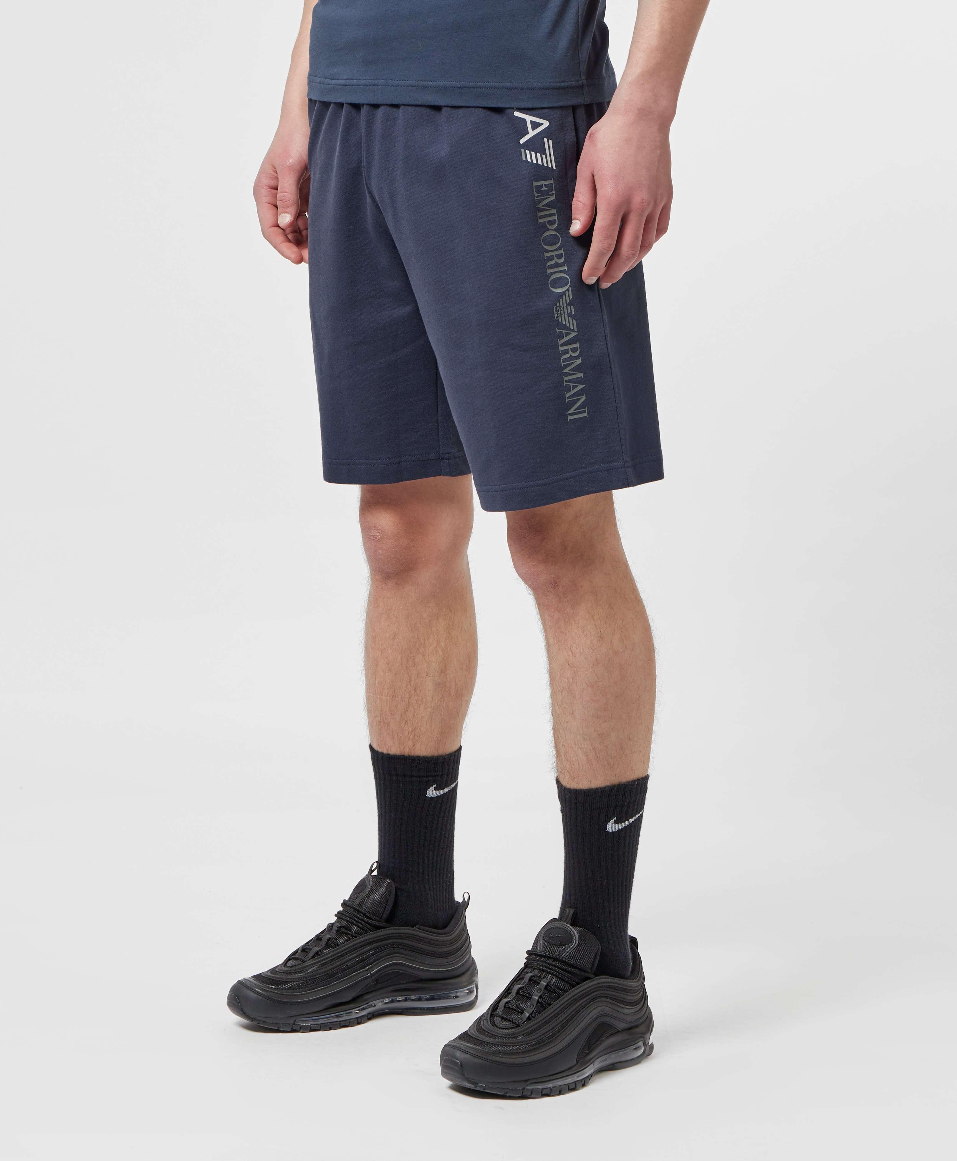 Emporio Armani EA7 Leg Logo Fleece Shorts