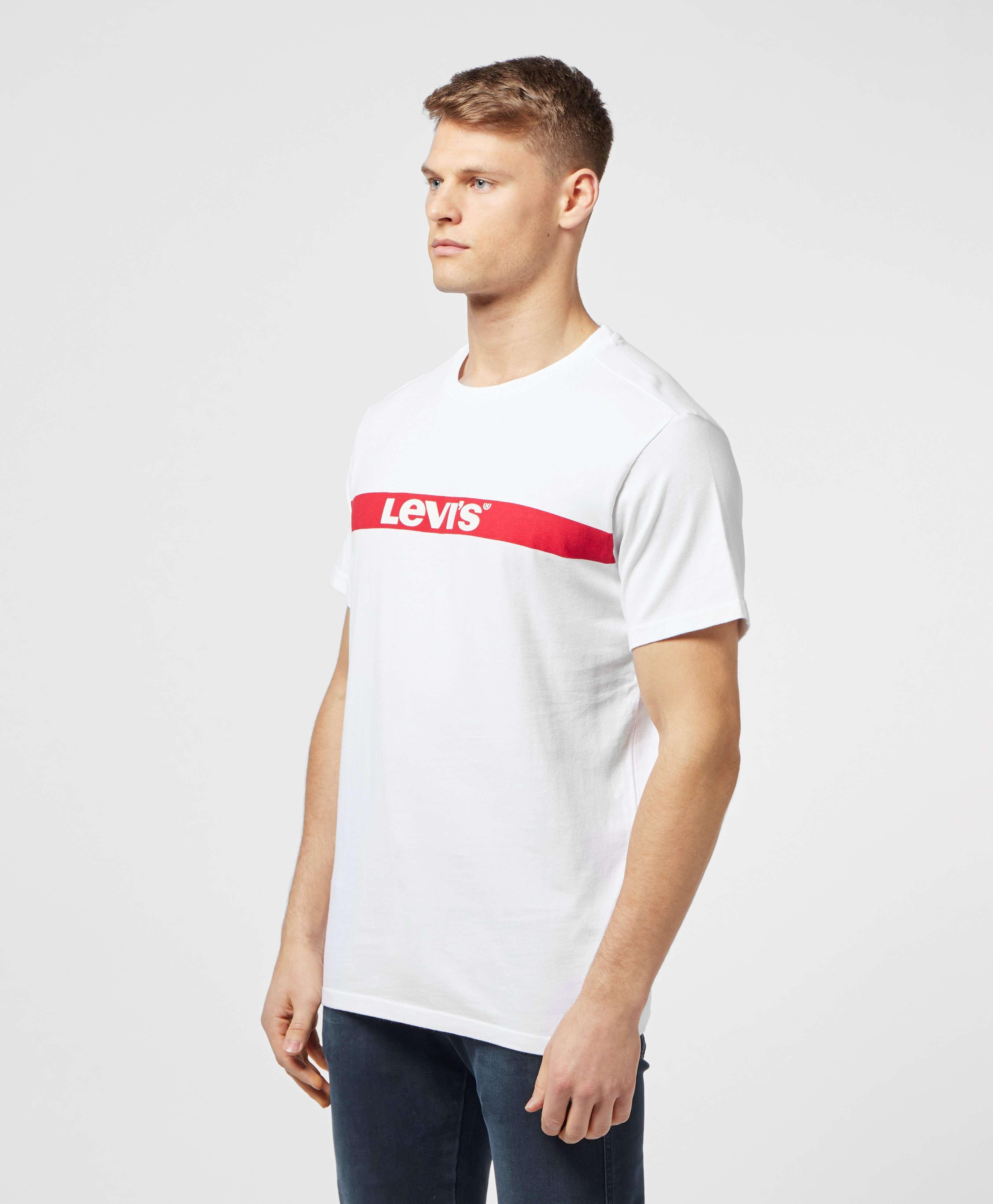 Levis Oversized Bar Logo Short Sleeve T-Shirt